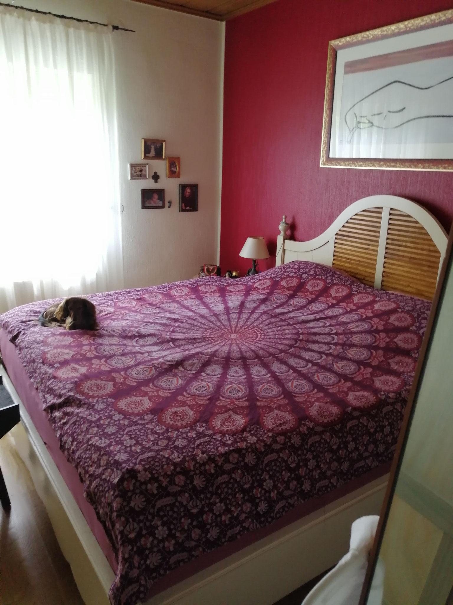 Schlafzimmer vorher