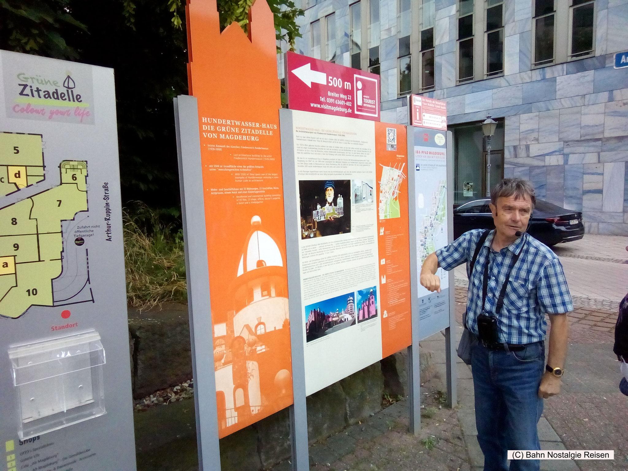 Unser Stadtführer zum Hundertwasserhaus in Magdeburg