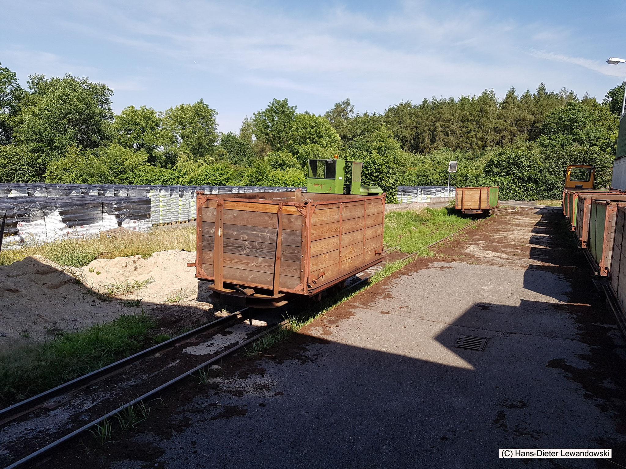 Die Moorbahn am Torfwerk