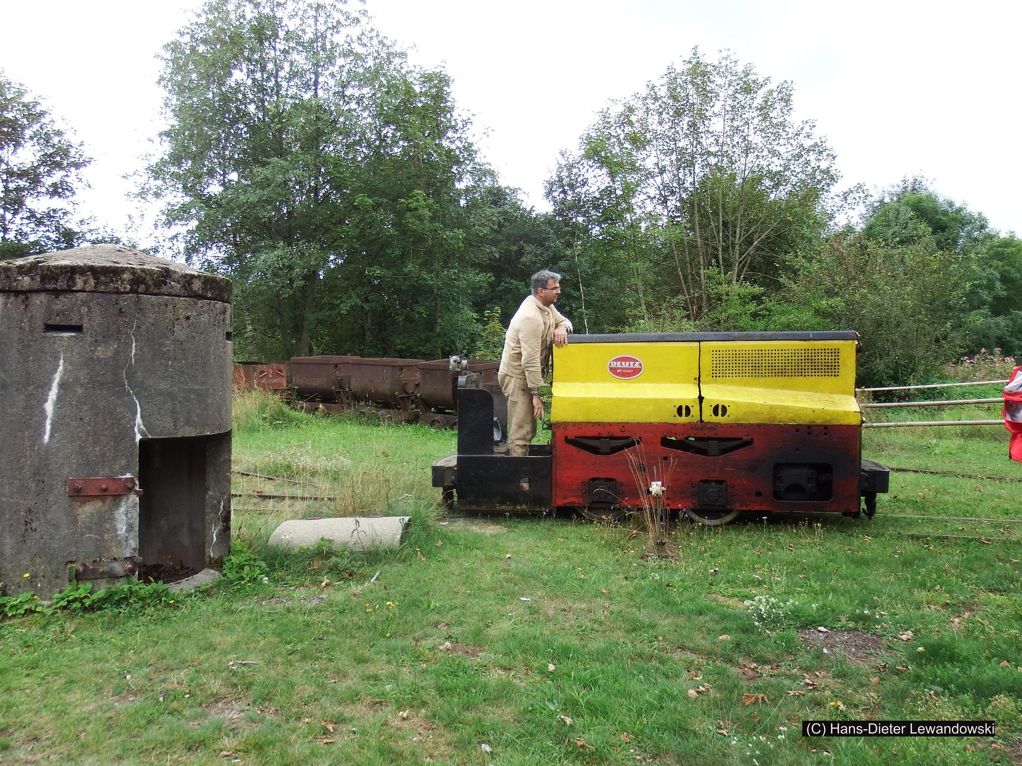 Mit der Tagesförderbahn zum Ottiliae-Schacht