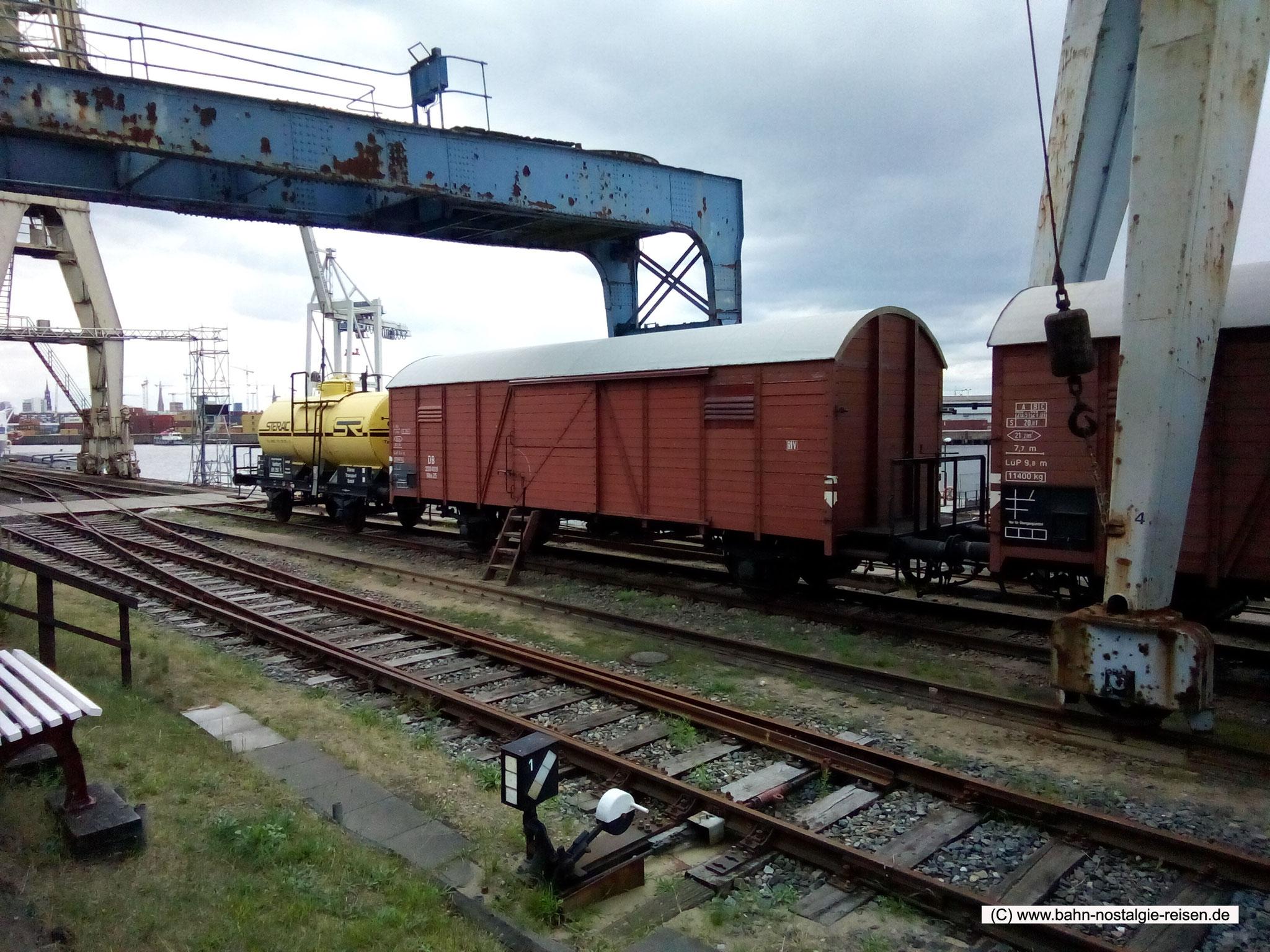 Historische Hafenbahn