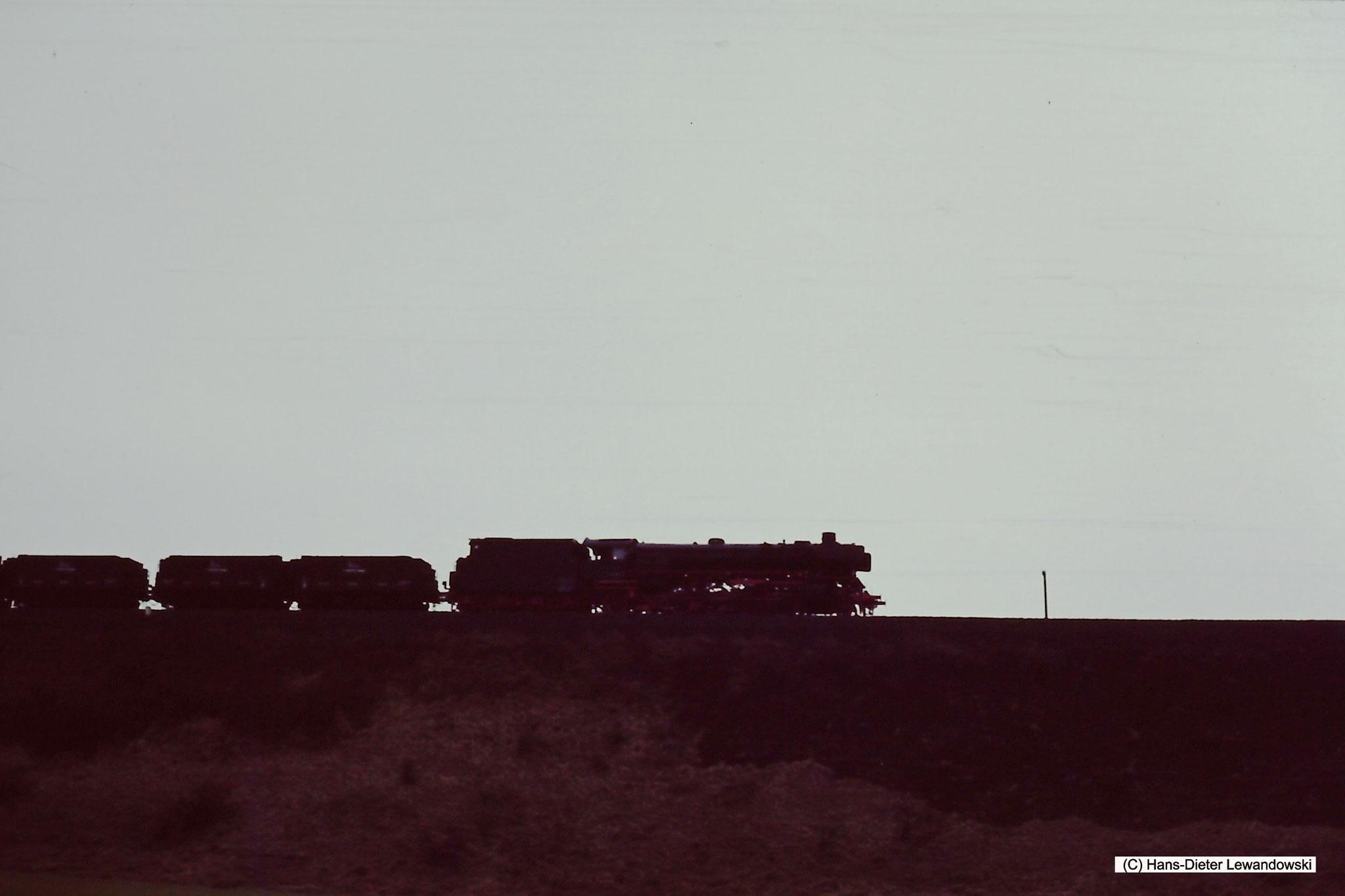 Auf dem Bahndamm bei Lutter am Barenberge