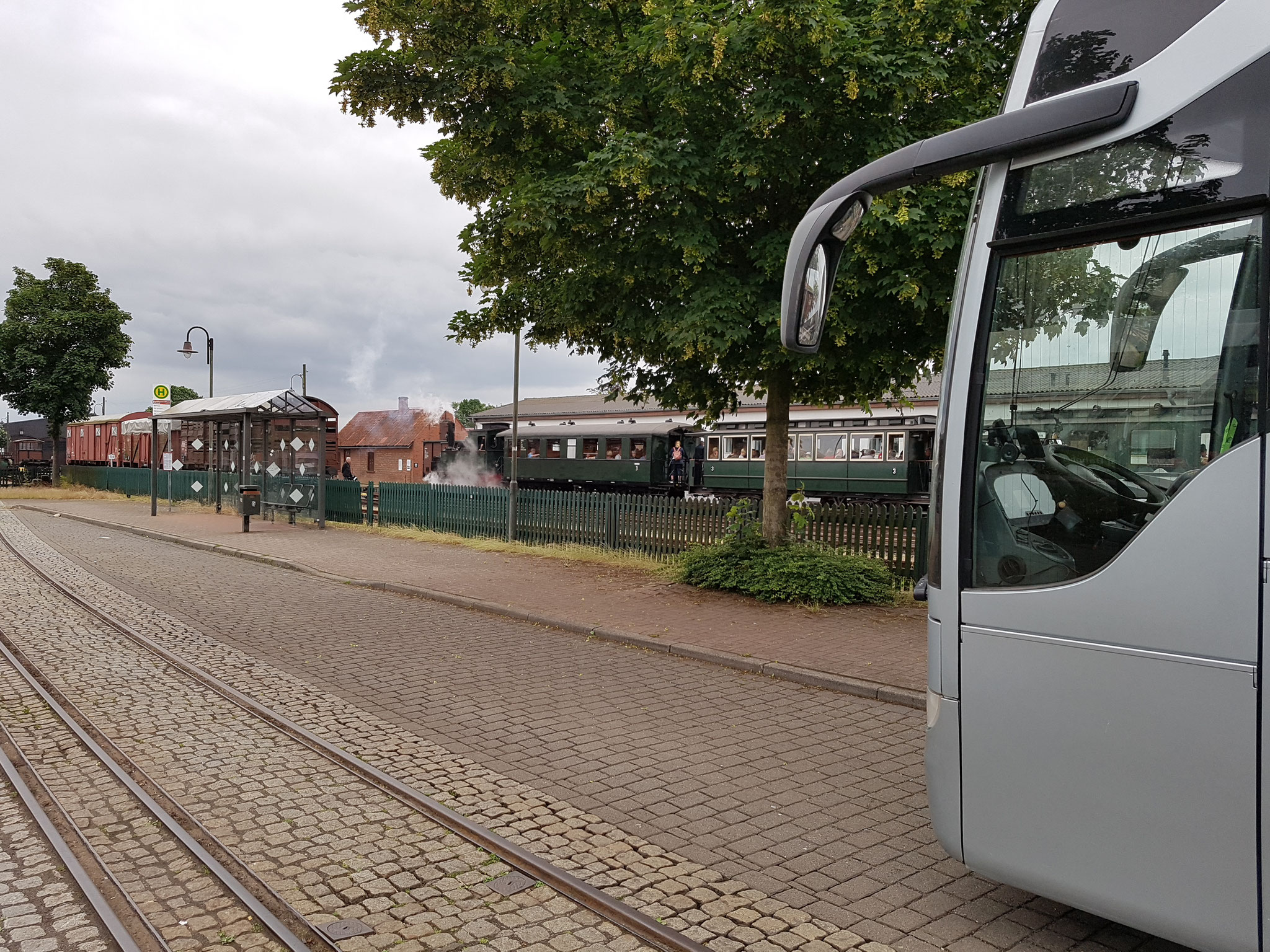 """(C) Bahn Nostalgie Reisen / """"Ersten Deutschen Museumsbahn"""" Bruchhausen Vilsen"""