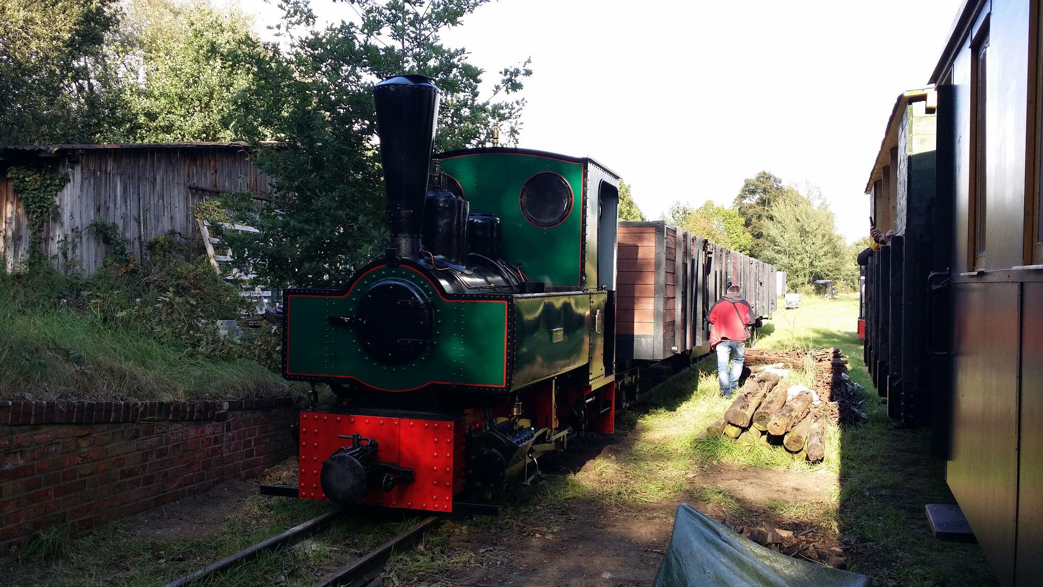 Bahnstrecke der Böhmeschen Dörfer