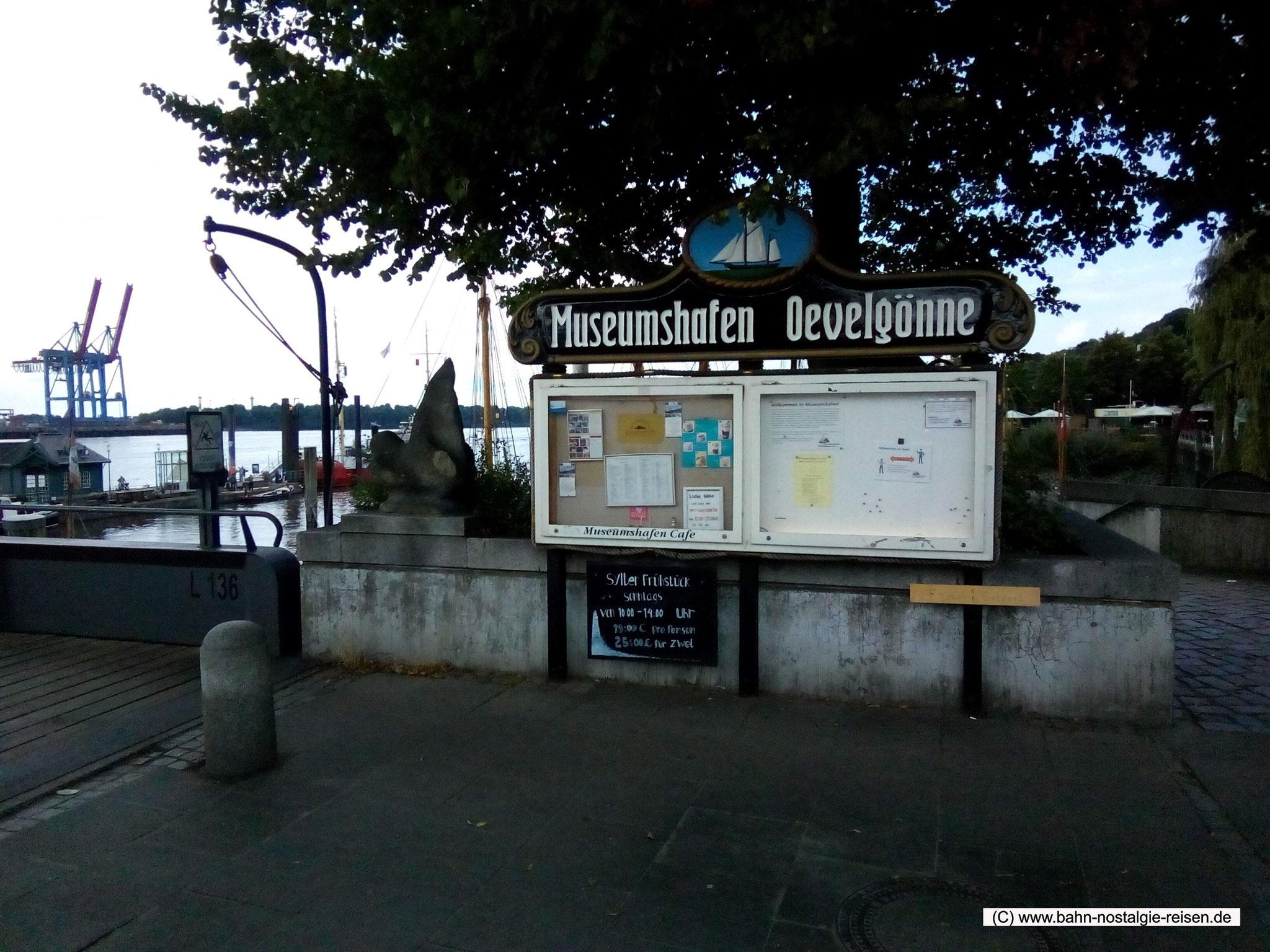 Der Museumshafen Oevelgönne