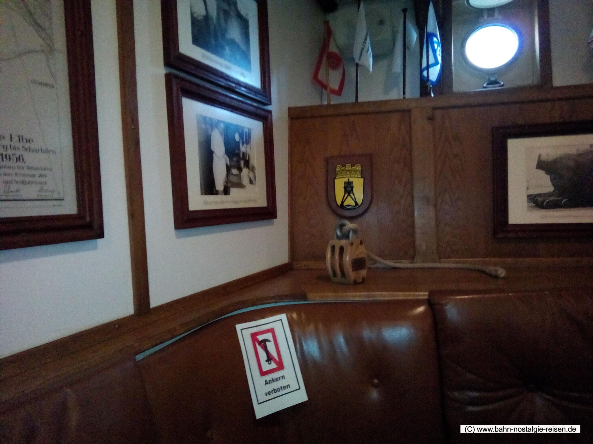 Besuch auf dem Museumsdampfer Schaarhörn