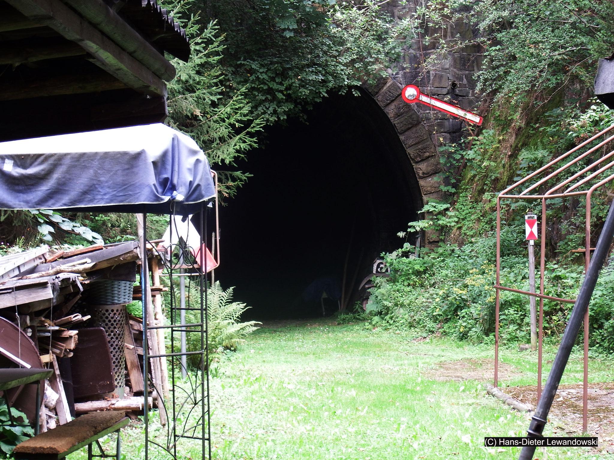 Der Tunnel der ehemaligen Innerstetalbahn