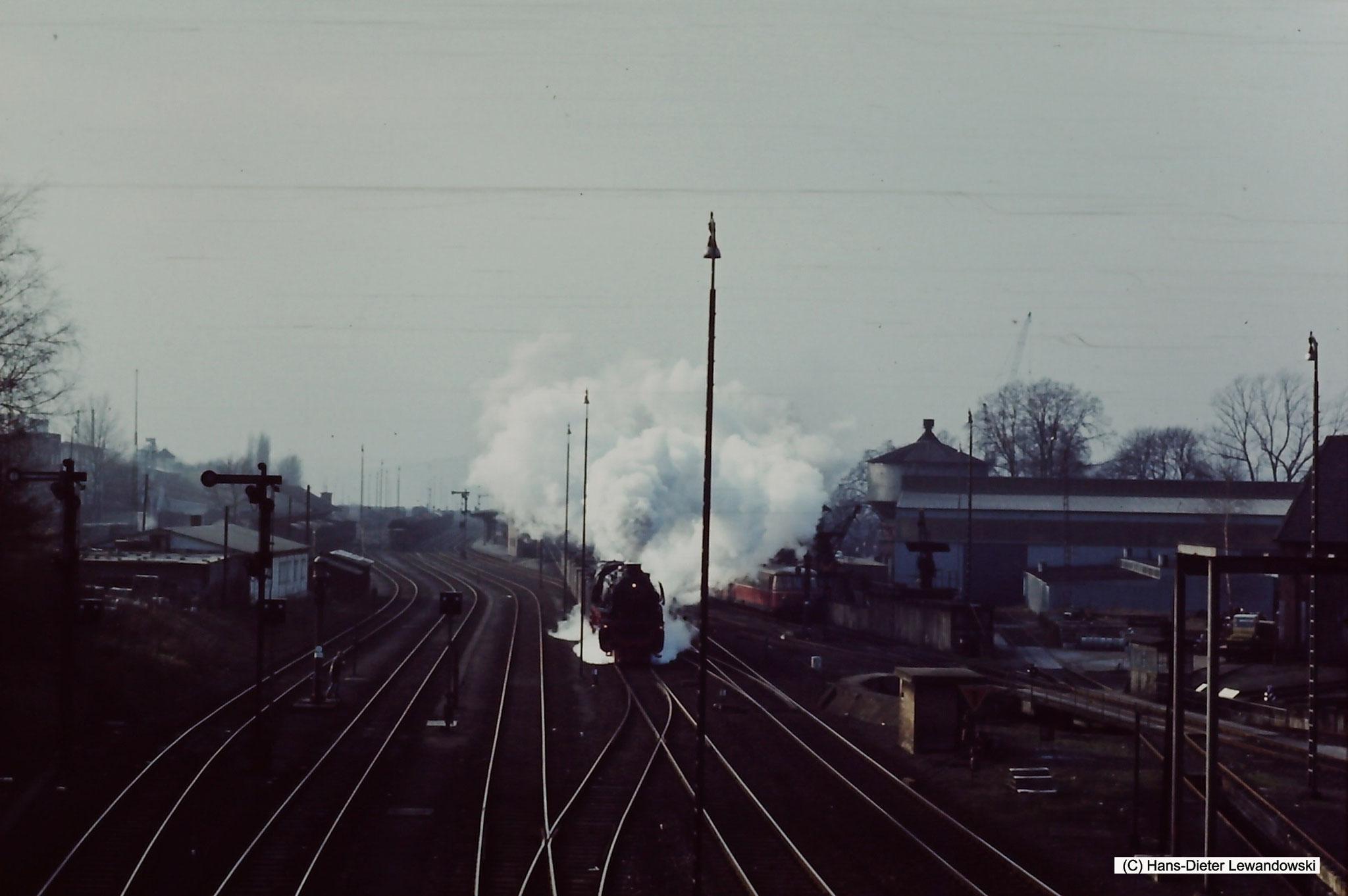 Durchfahrt Bahnhof Seesen