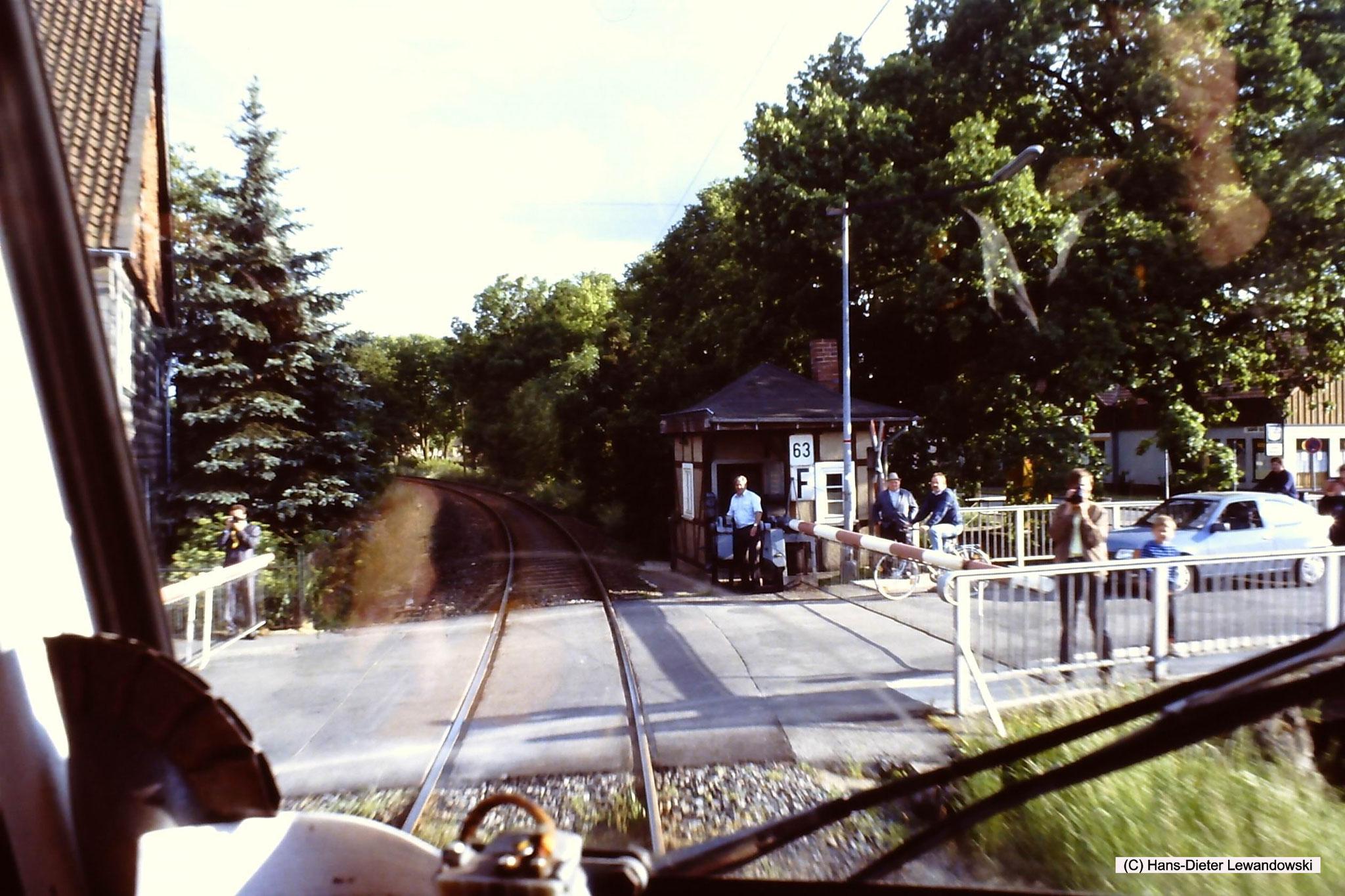 Schrankenposten 63 in Grossrhüden