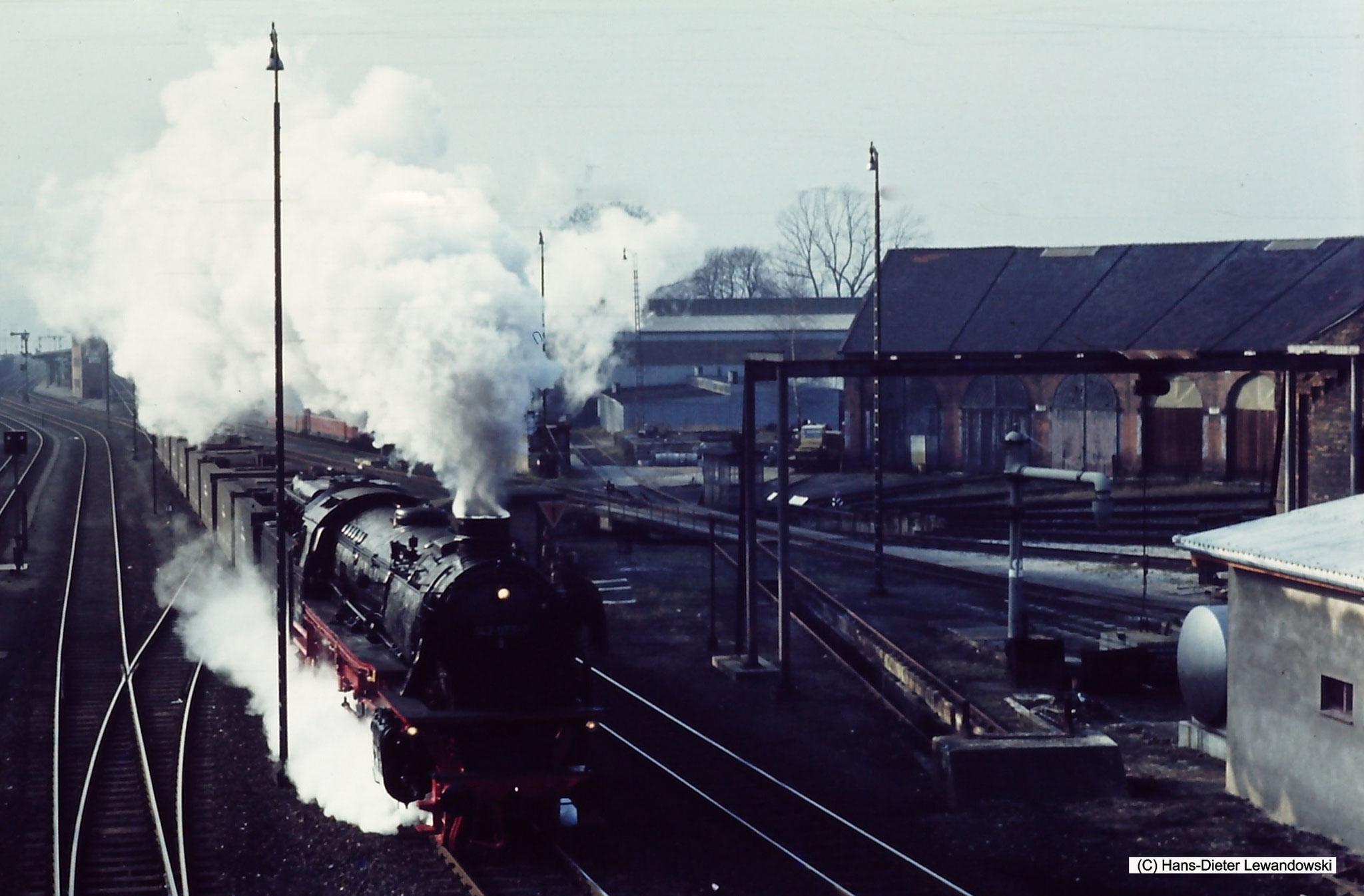 Durchfahrt Bahnhof Seesen am Bw