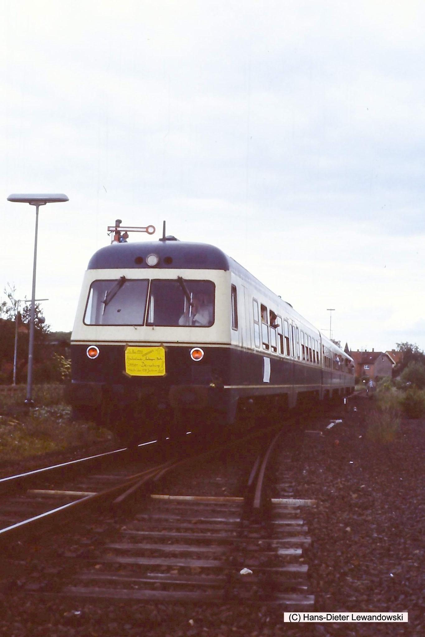 Bahnhof Derneburg - Ausfahrt ehemalig Seesen