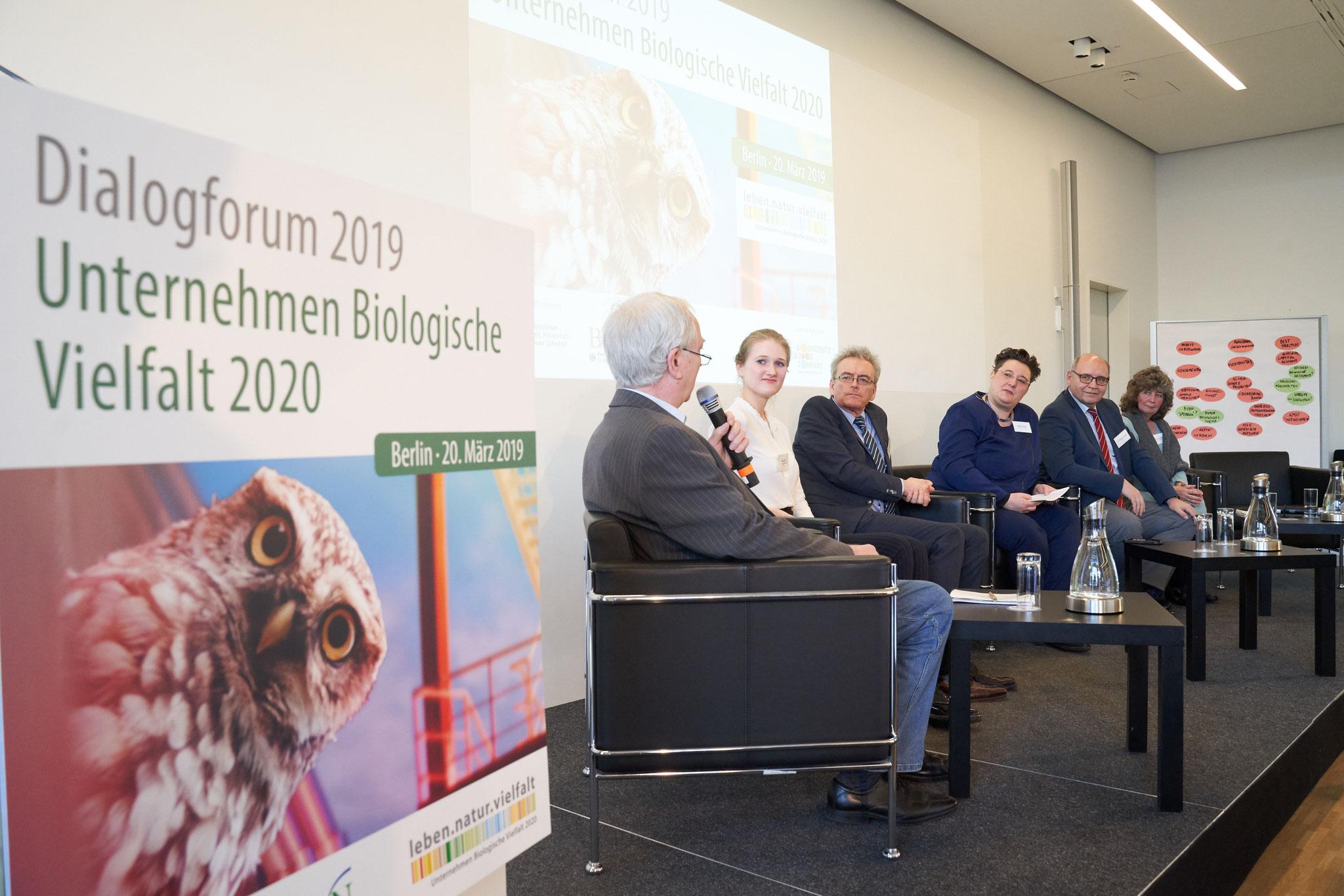 Dialogforum 2019 UBi 2020, Bild: F. Nürnberger für 'Biodiversity in Good Company' Initiative