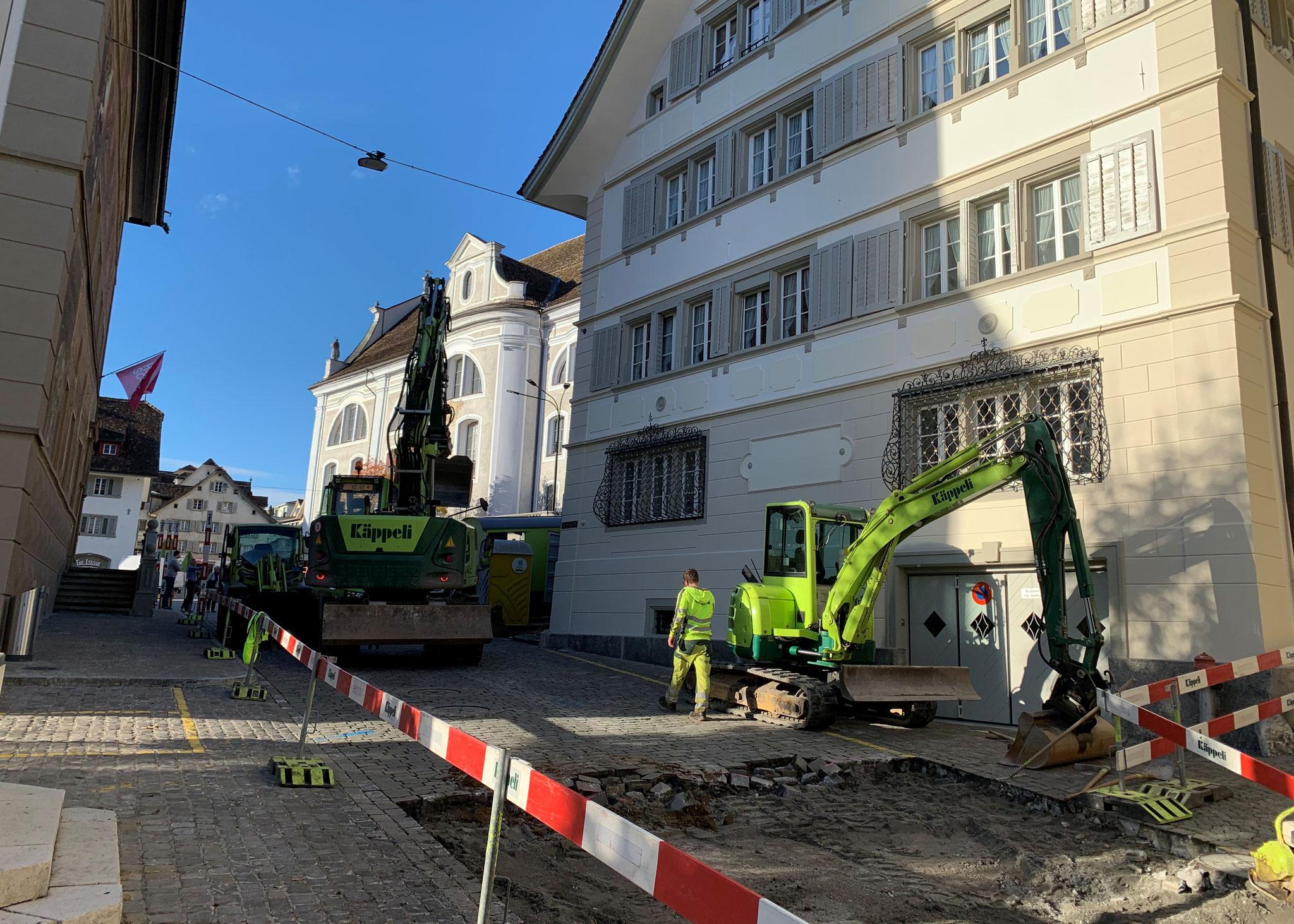 Hauptplatz - Strehlgasse Schwyz, 2. November 2020