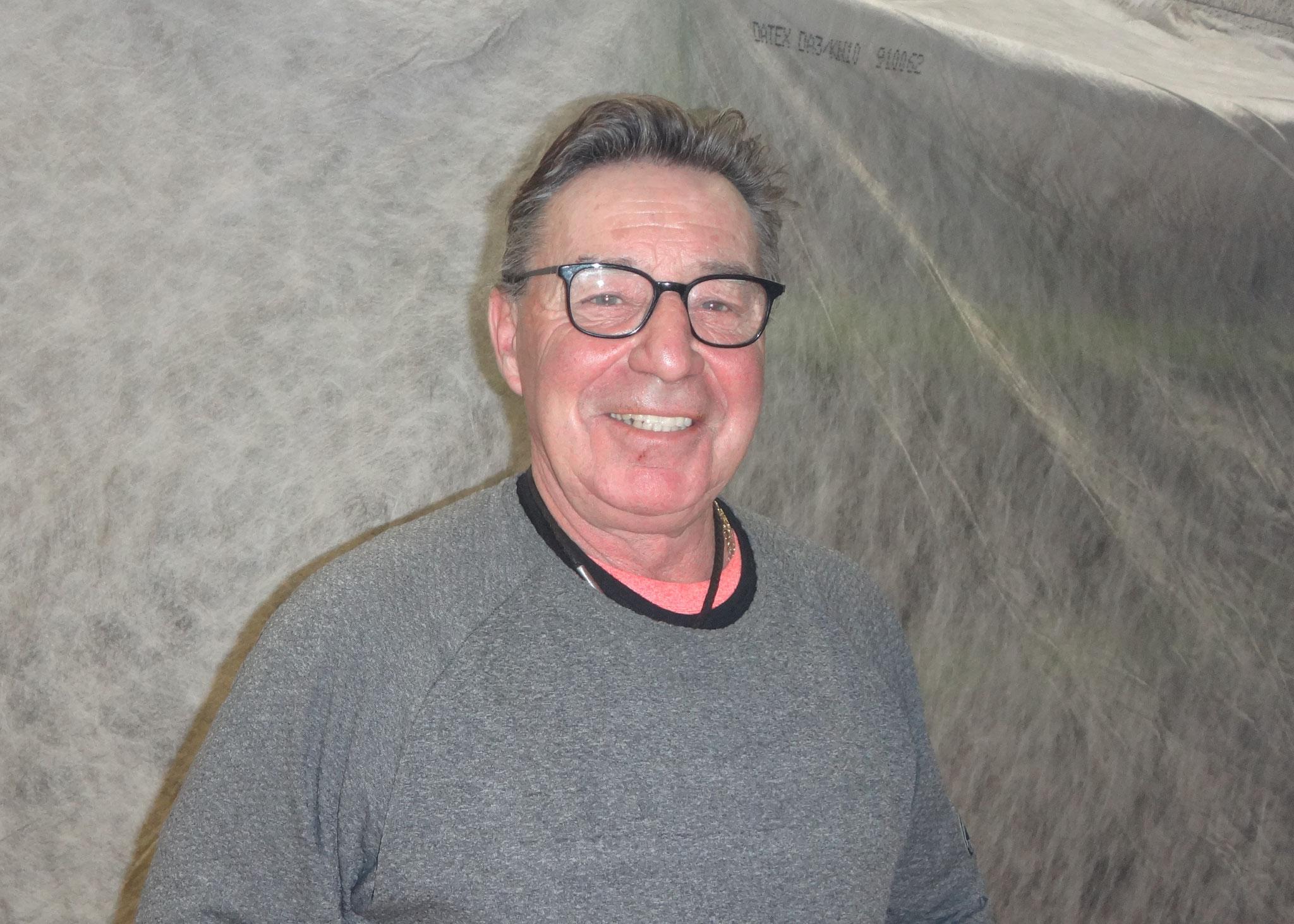 30 Jahre: Bruno Erismann, Polier