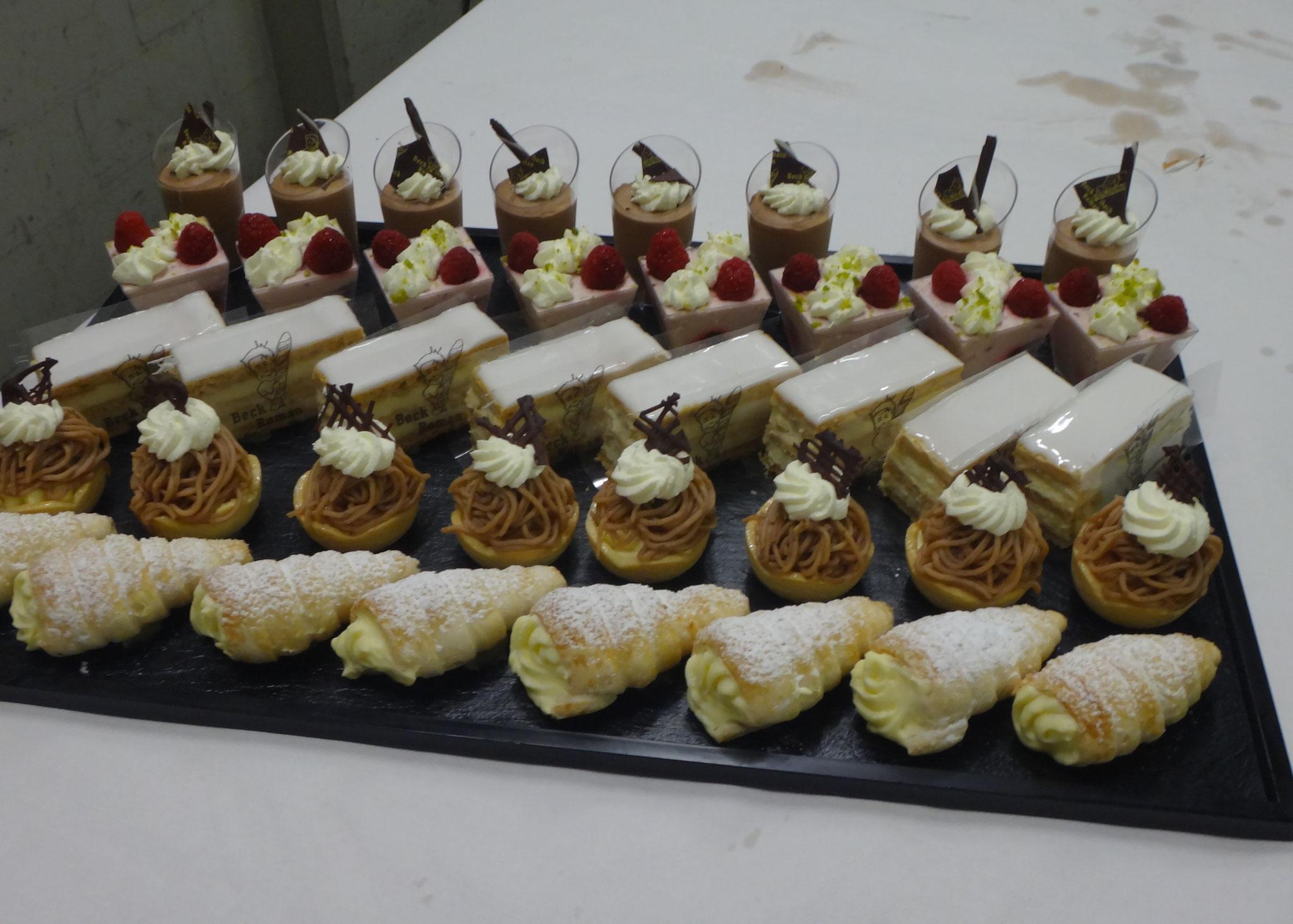 Und zum Abschluss ein feines Dessert !