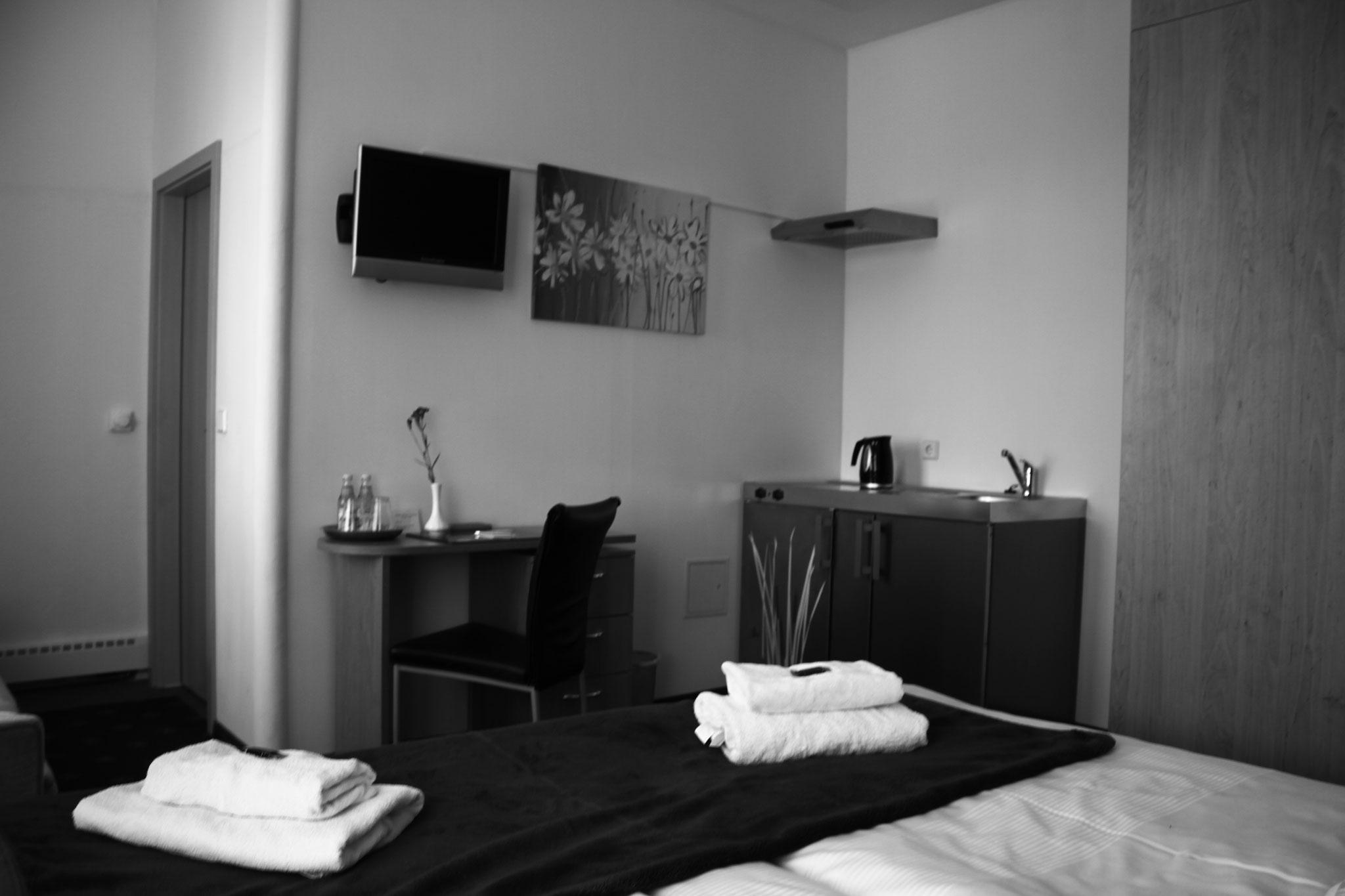 Doppelzimmer mit Küche