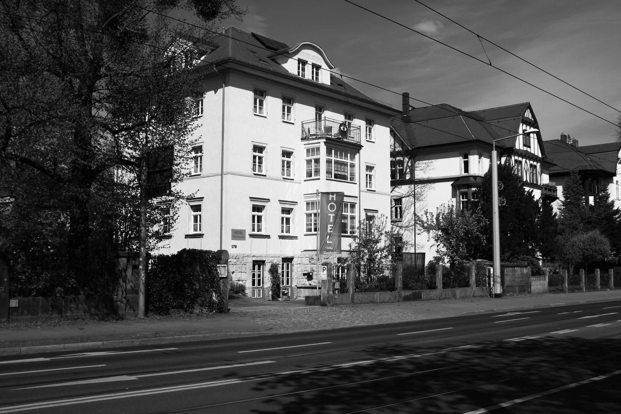 Hotel Außenansicht