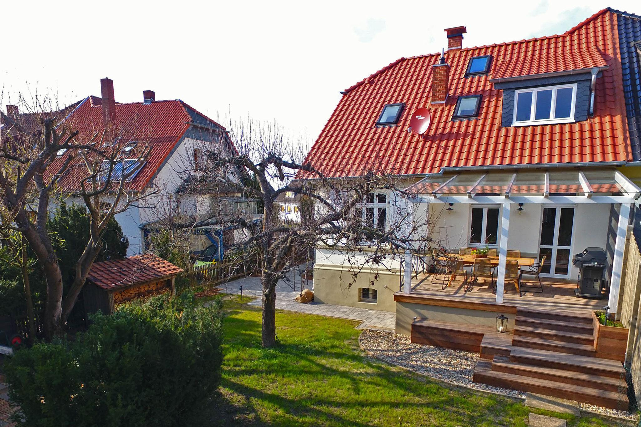 1899 - Ferienhaus in Wittmar / Gartenansicht