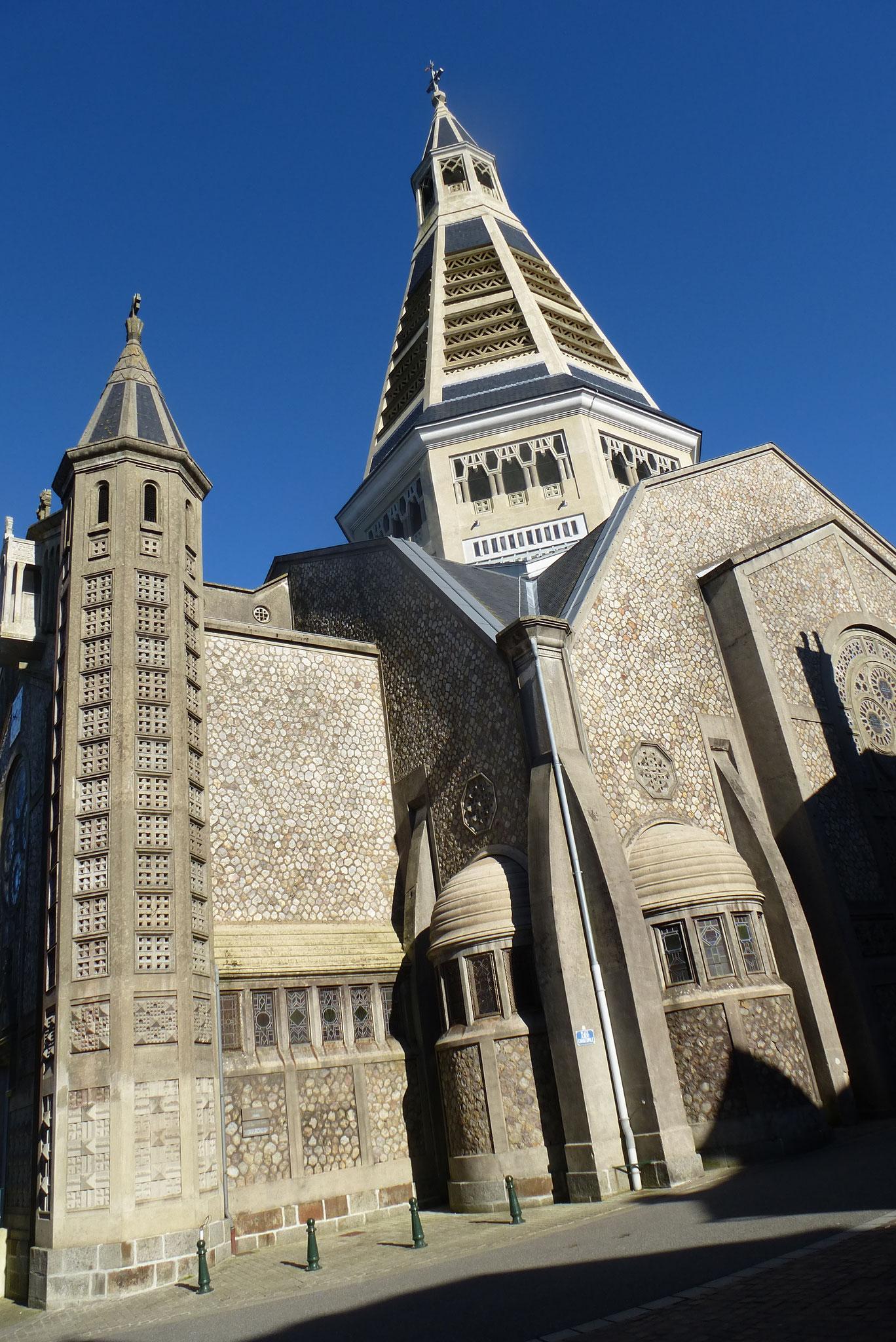 Eglise, Saint julien de Domfront