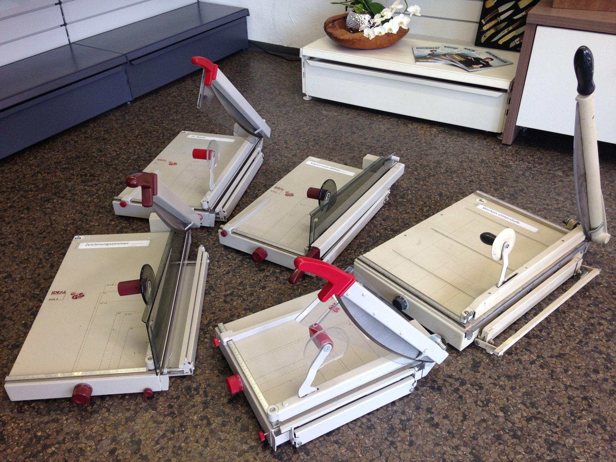 Papier-Schneidmaschinen schleifen für Schulen, Gemeinden, Büros