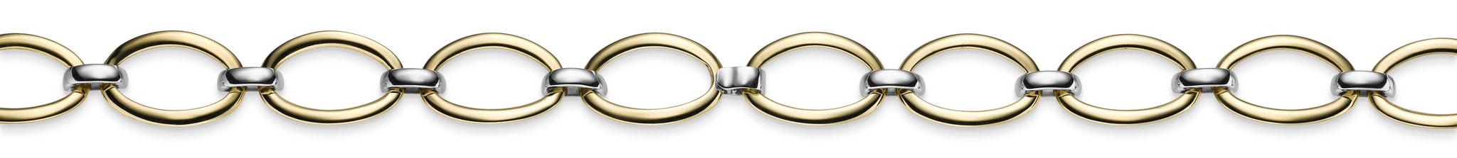 585er Gelbgold, elastisches Armband, Art: 7815, UVP: 805 €