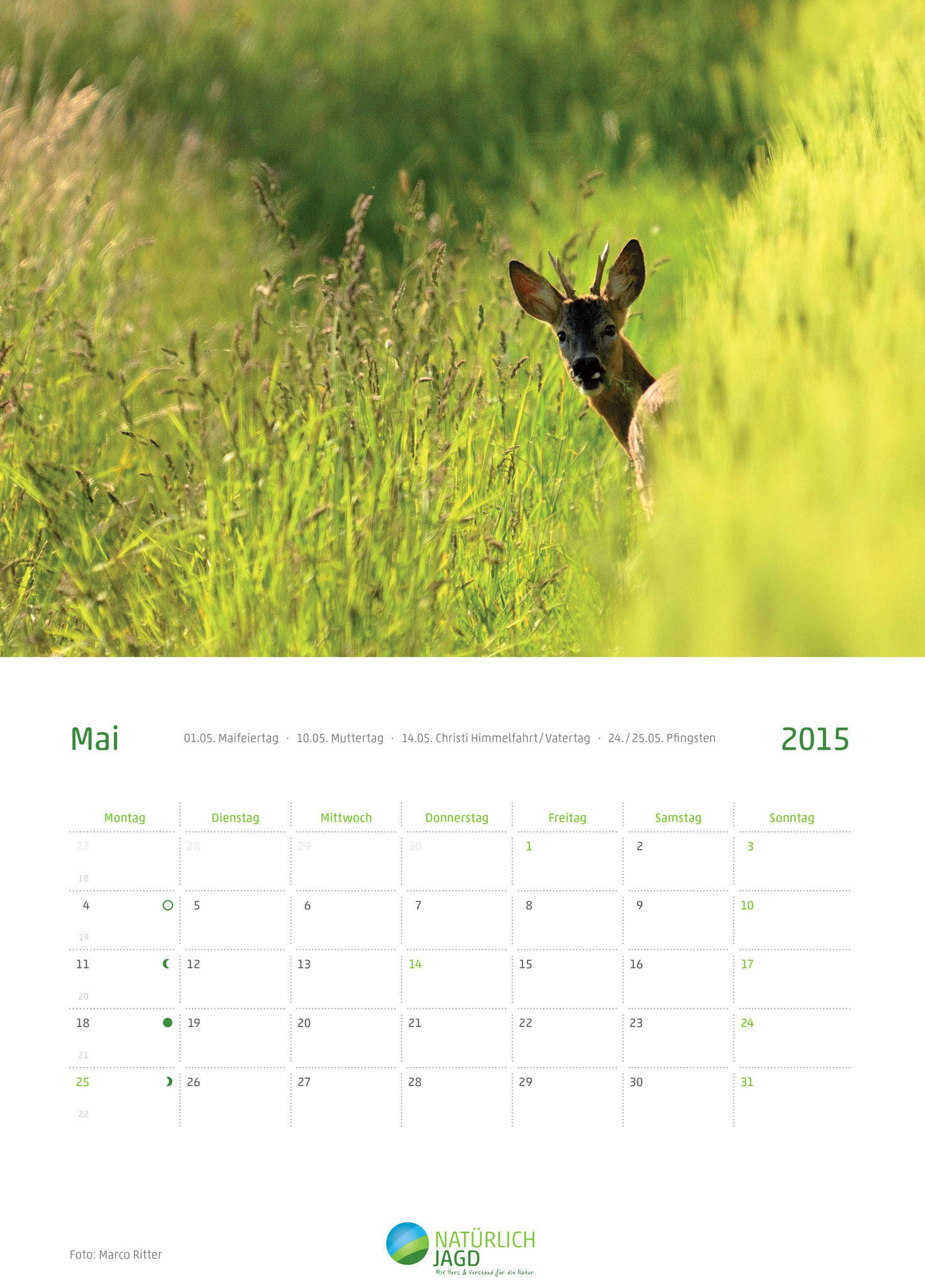 """Natürlich Jagd Fotoreporter"" des Monats Mai 2014 der Jägerstiftung natur+mensch"