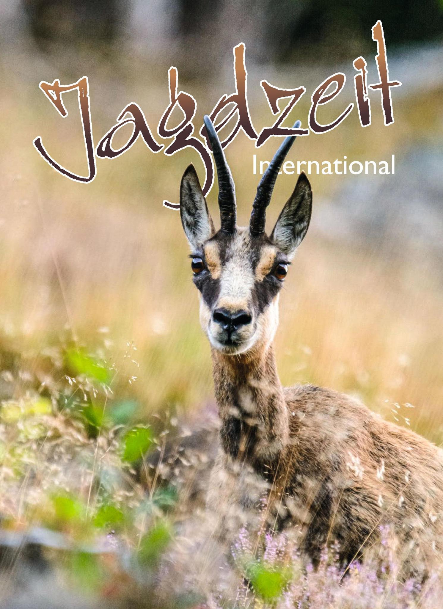 Titelseite der Jagdzeit International Nr. 40 (03/2019)