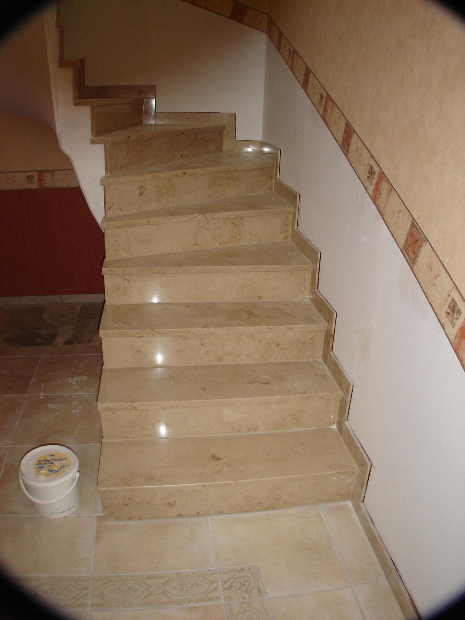 Marmor Treppe