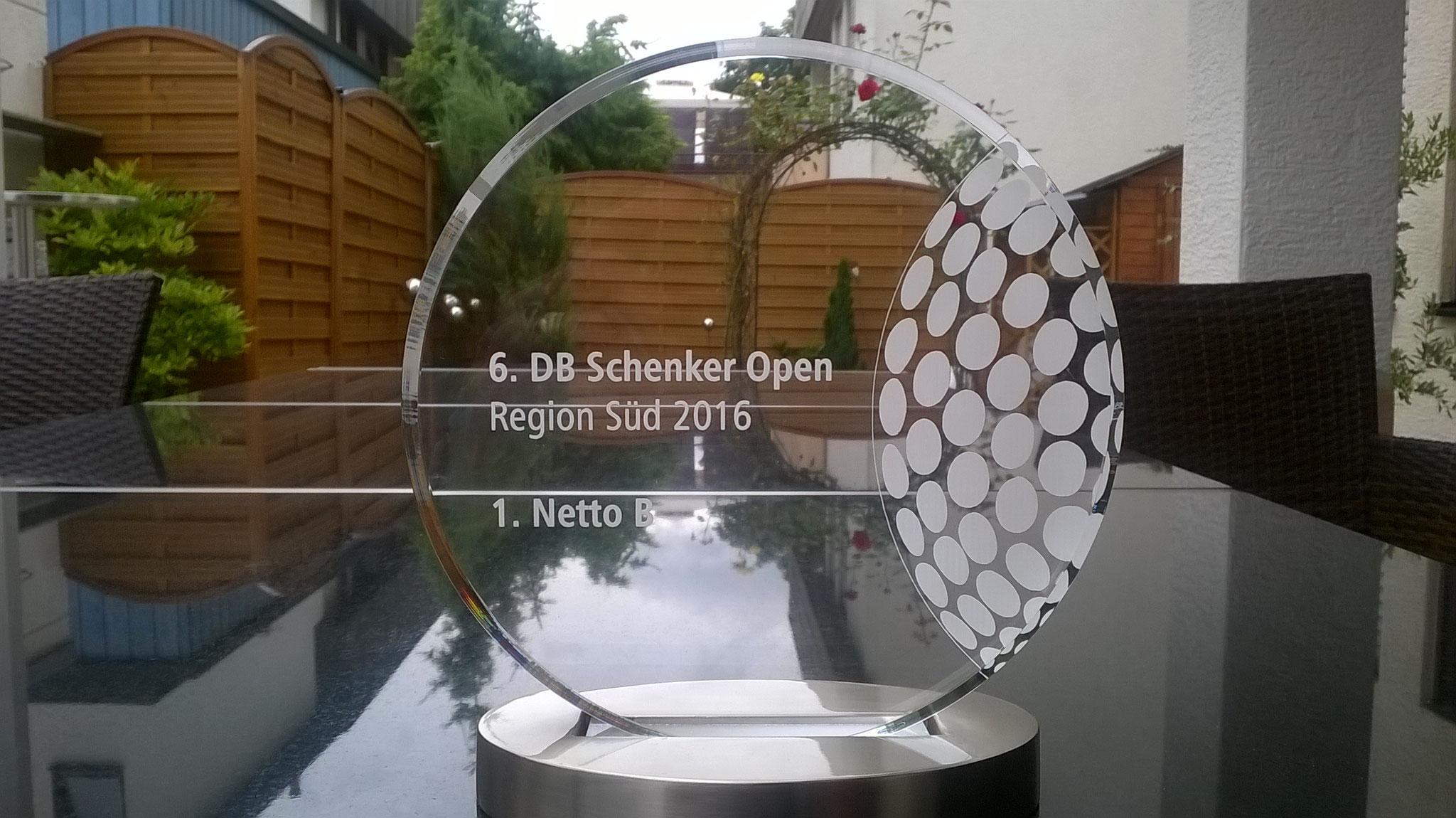 Platz 1 DB Schenker OPEN 2016 Kat. B