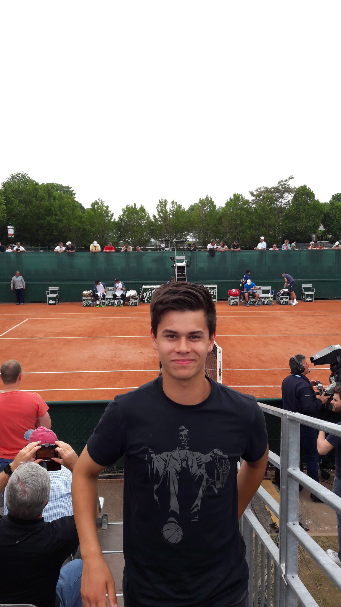 Mannschaftsausflug French Open 2016