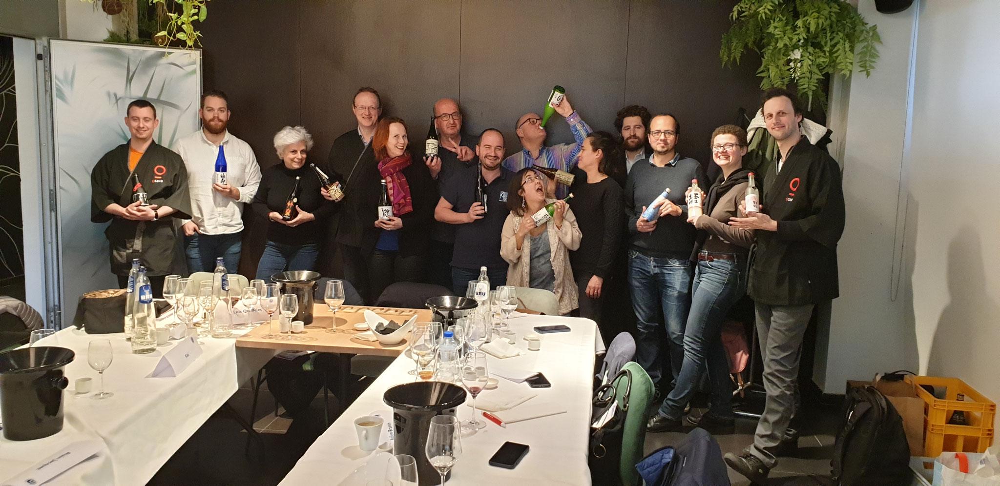 Formation Sake Sommelier Bruxelles 2019