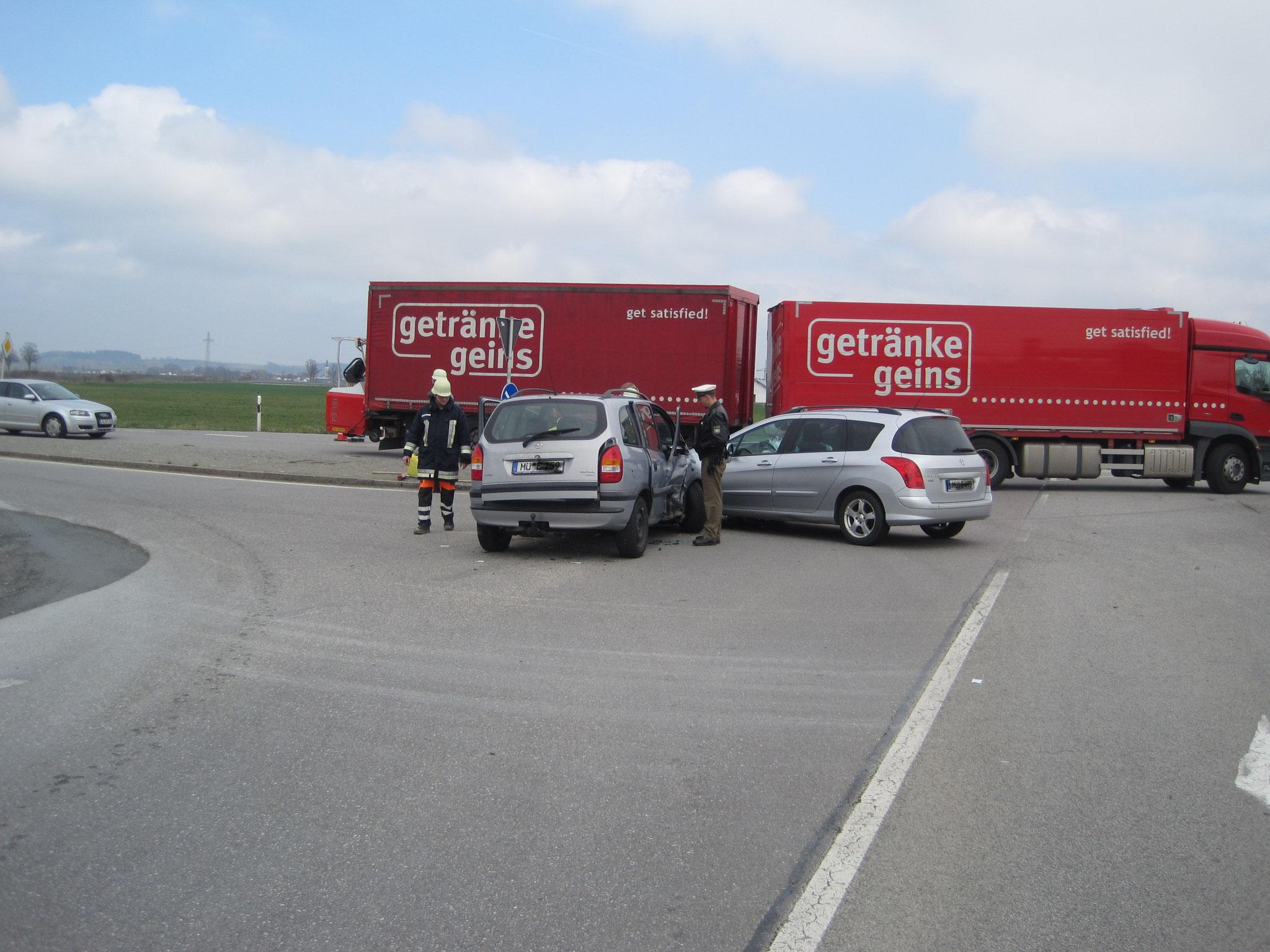 Unfall St2352 Unterführung Innbau 20.09.2012 © FFW Mettenheim - ffw ...