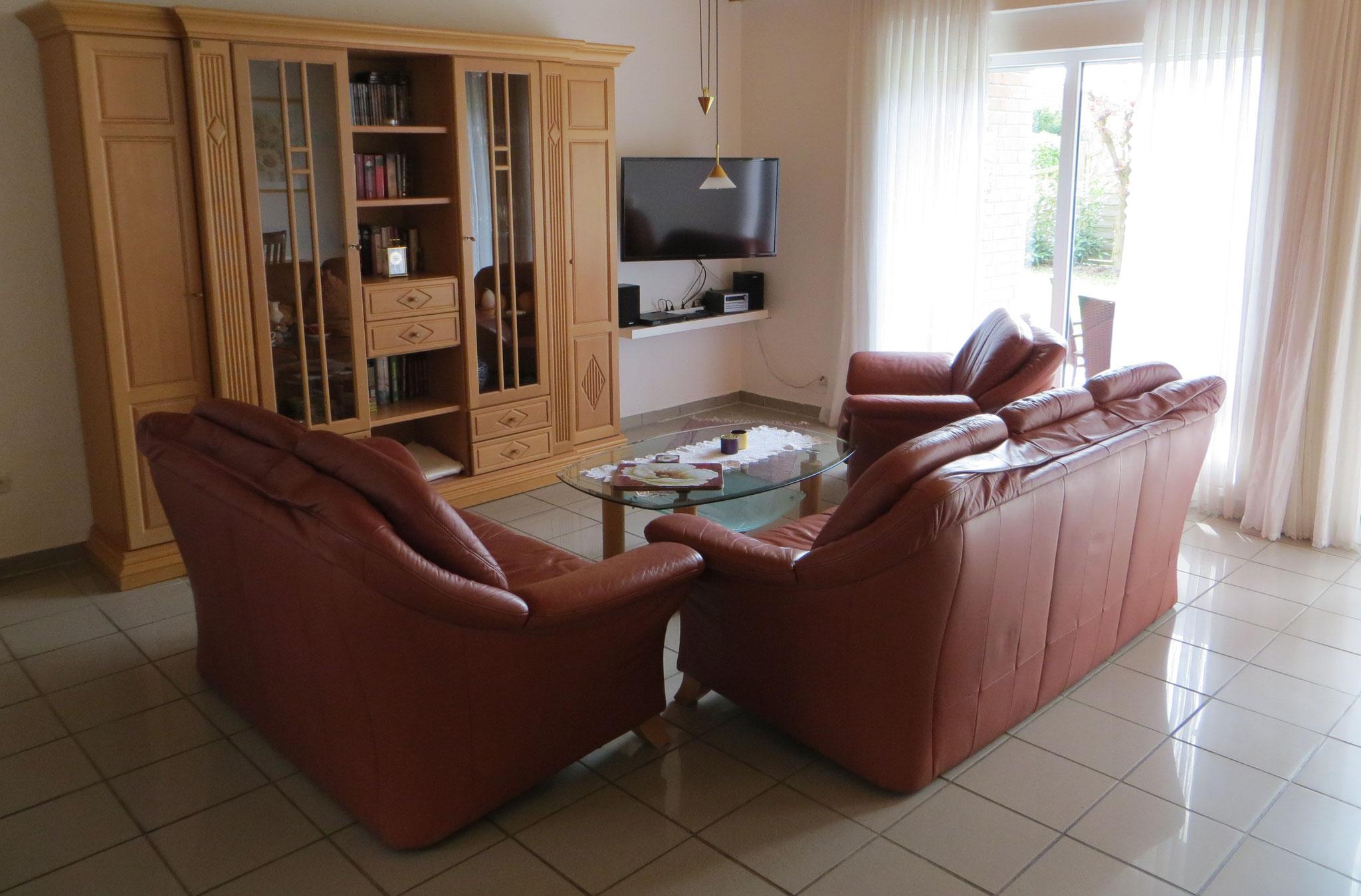 Sitzgarnitur im Wohnbereich