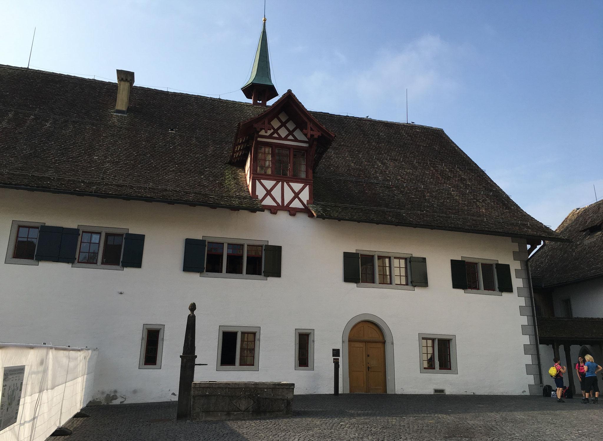 ...Übernachtung im Kloster Kappel...