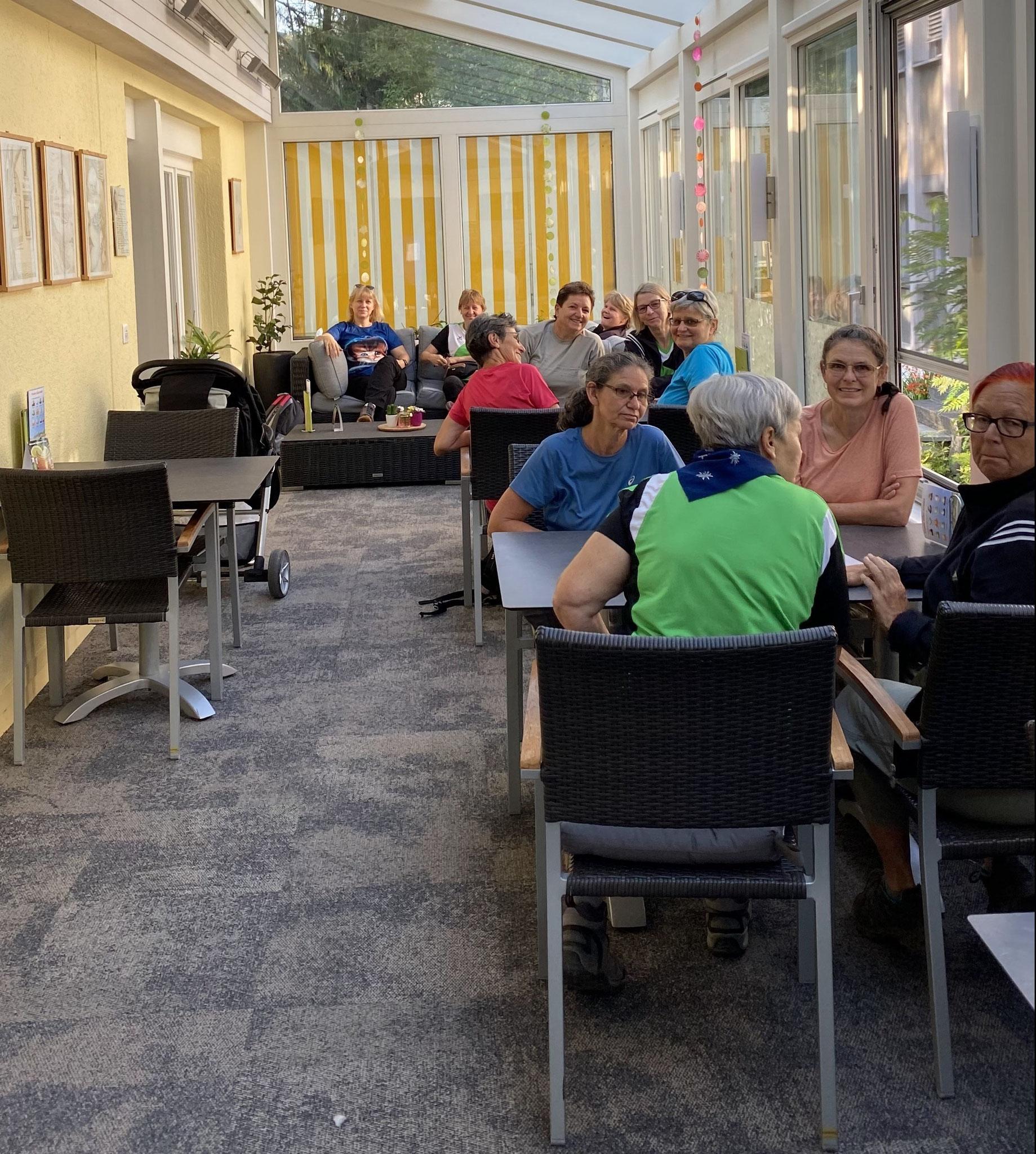 Kaffeepause im Café Brändle in Unterägeri ZG