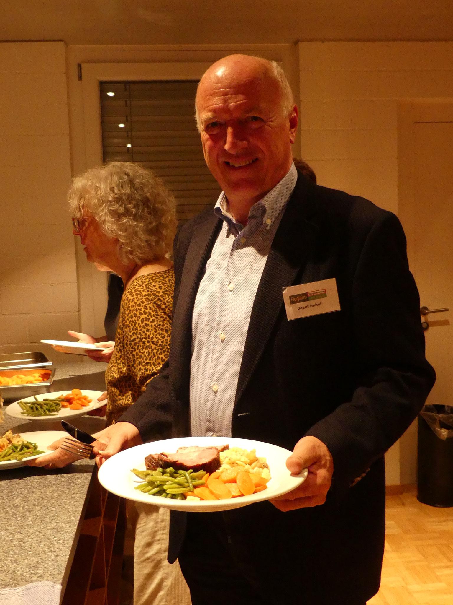 ... und Josef Imhof, Präsident