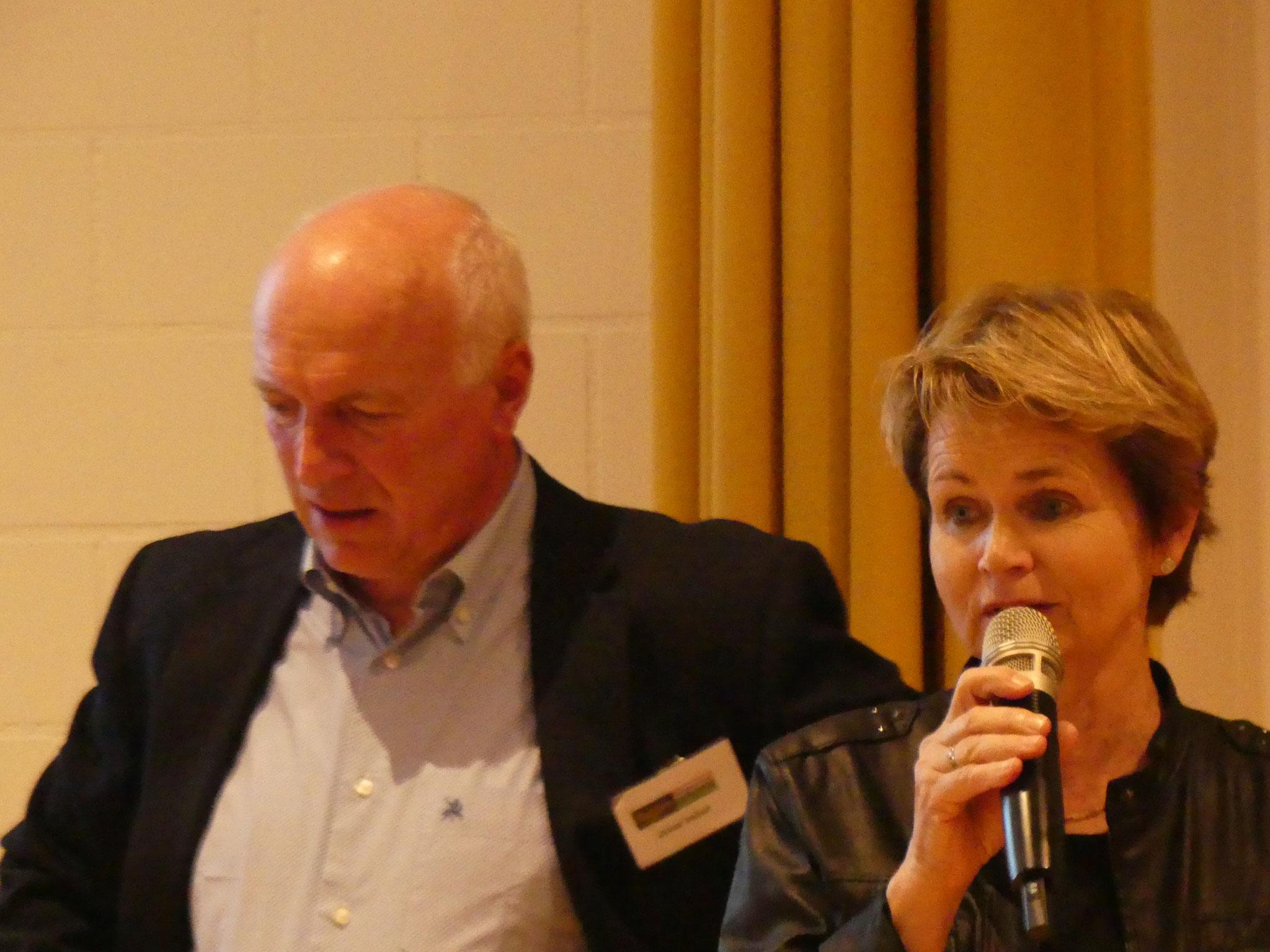 Mitglied und Ständerätin Brigitte Häberli dankt für unseren Einsatz