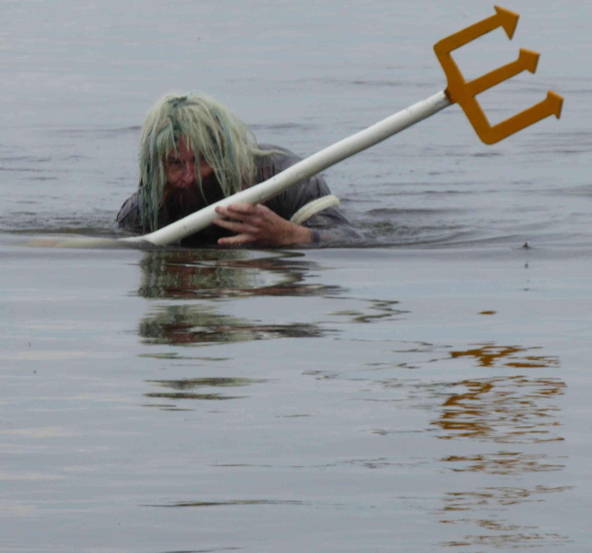 Neptun entsteigt den Fluten