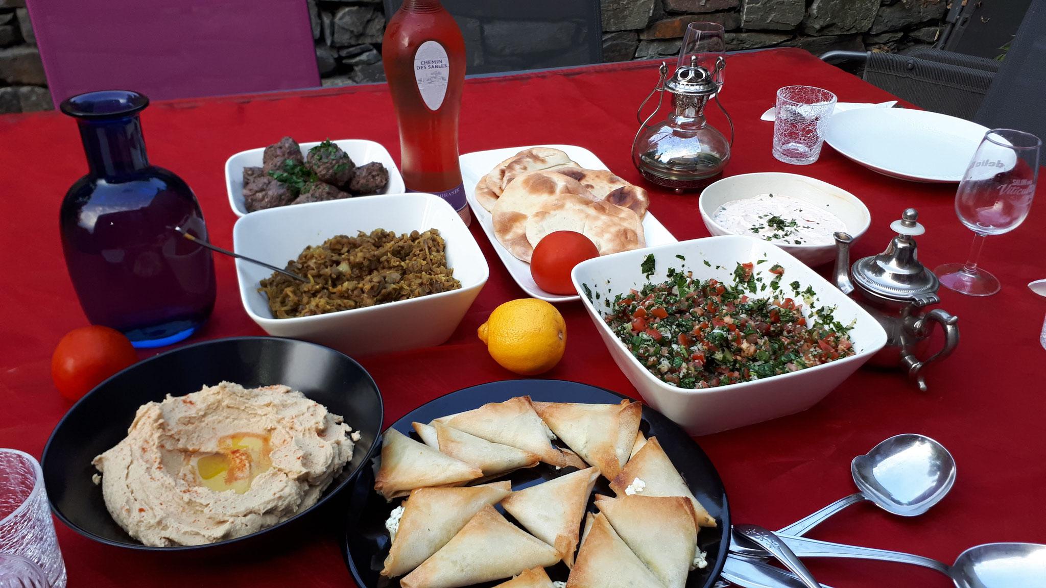 atelier de cuisine libanaise