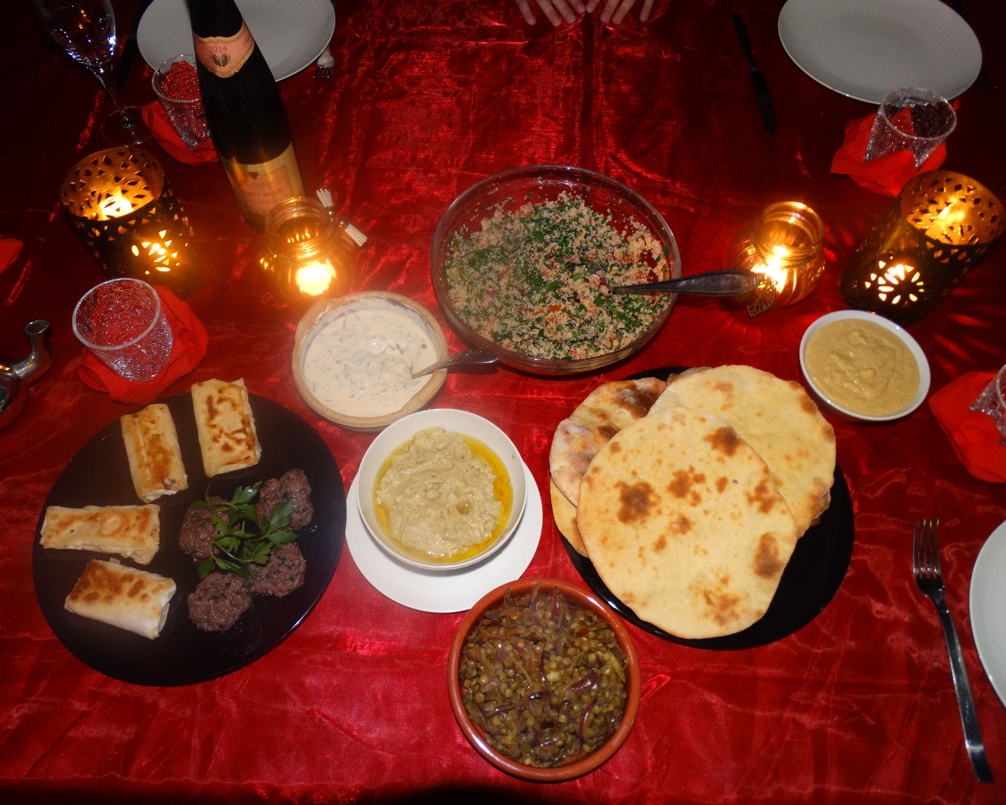 Délicieux plats Libanais