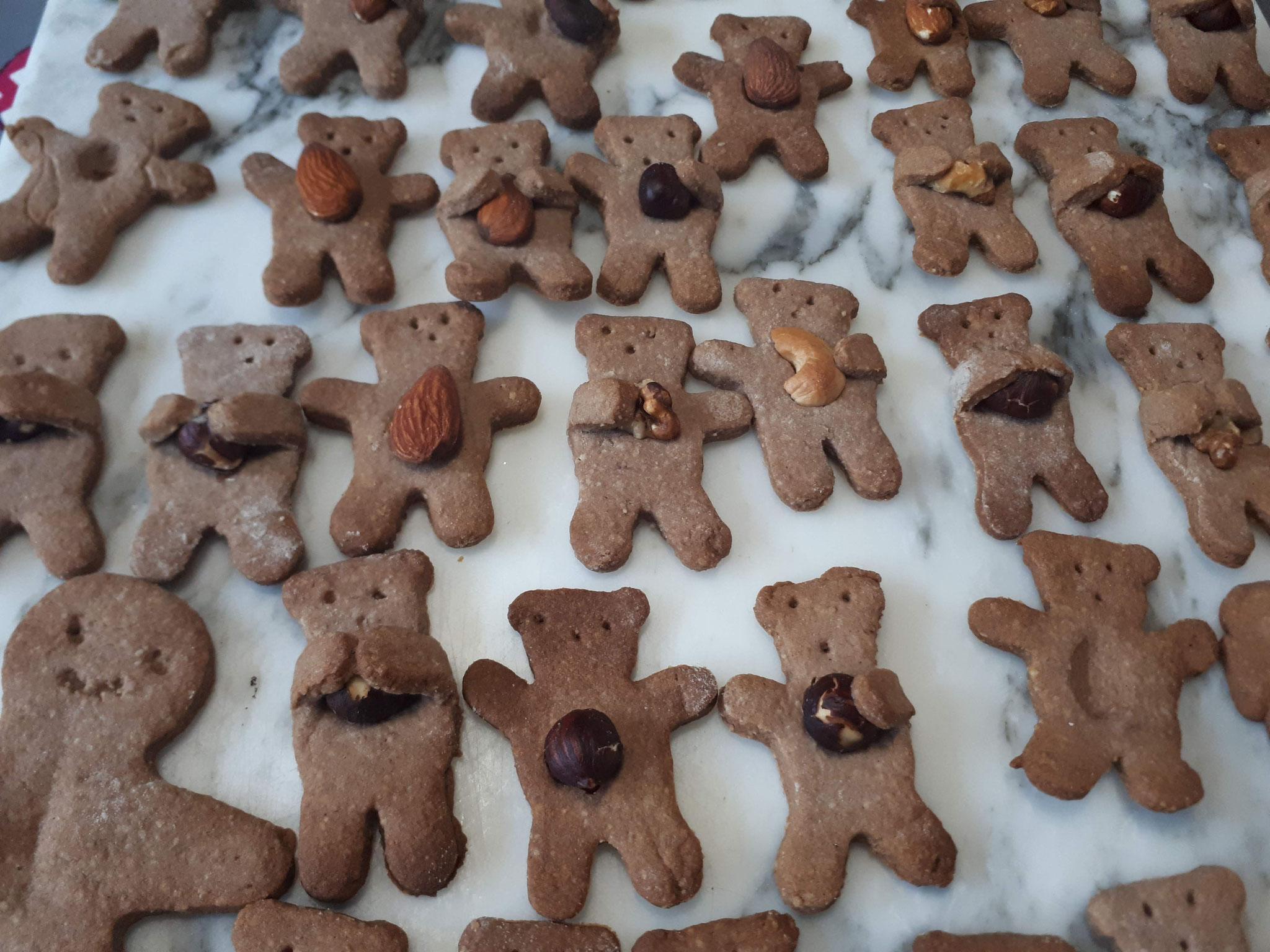les délicieux biscuits de fête