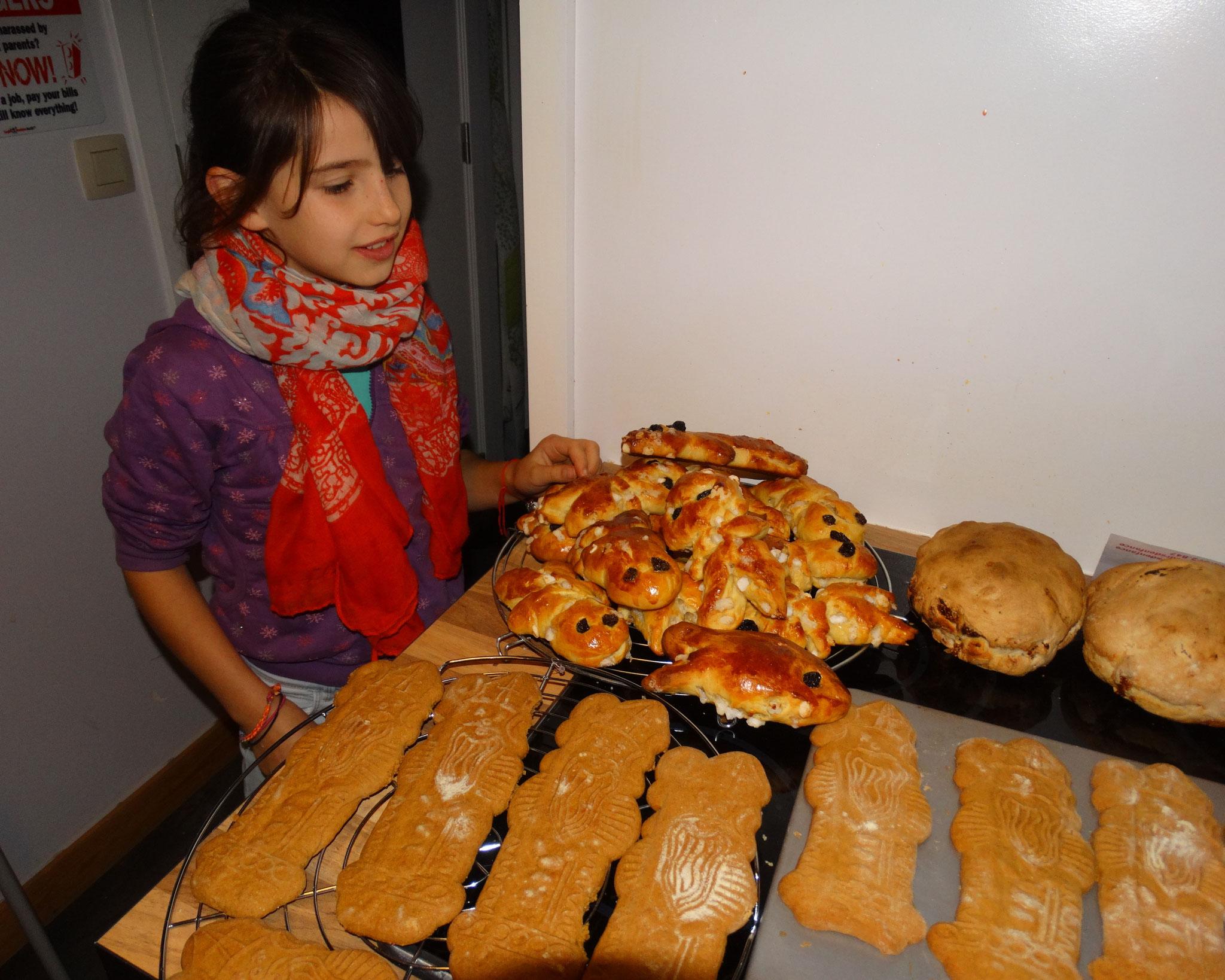 Cours cuisine enfants Saint-Nicolas