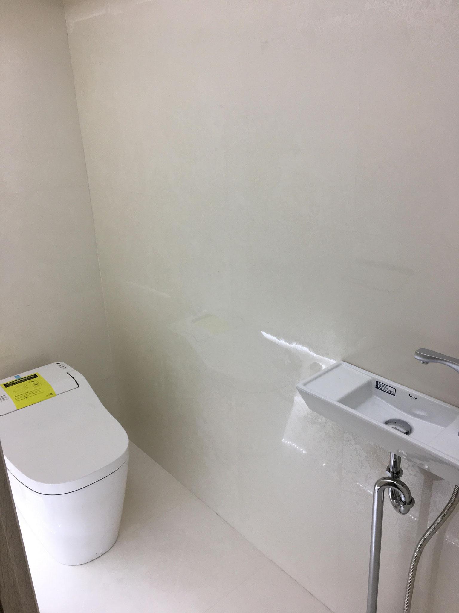 女子トイレ 内装