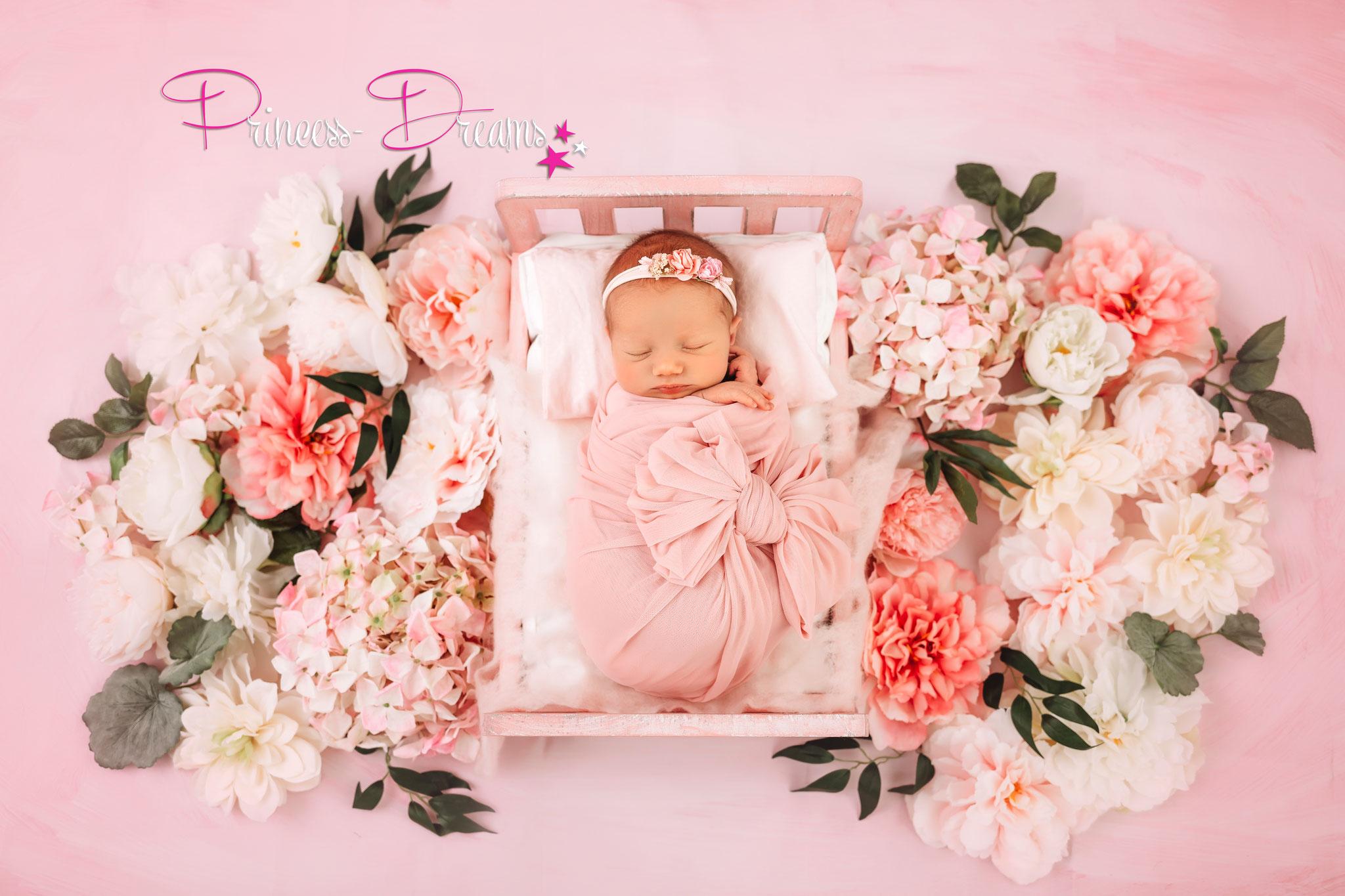 Neugeborenen Baby Haarband Baby Mädchen Perlen Fotografie Prop Babyfotografie Stirnband Newborn Shooting Taufe Haarschmuck Babyshooting