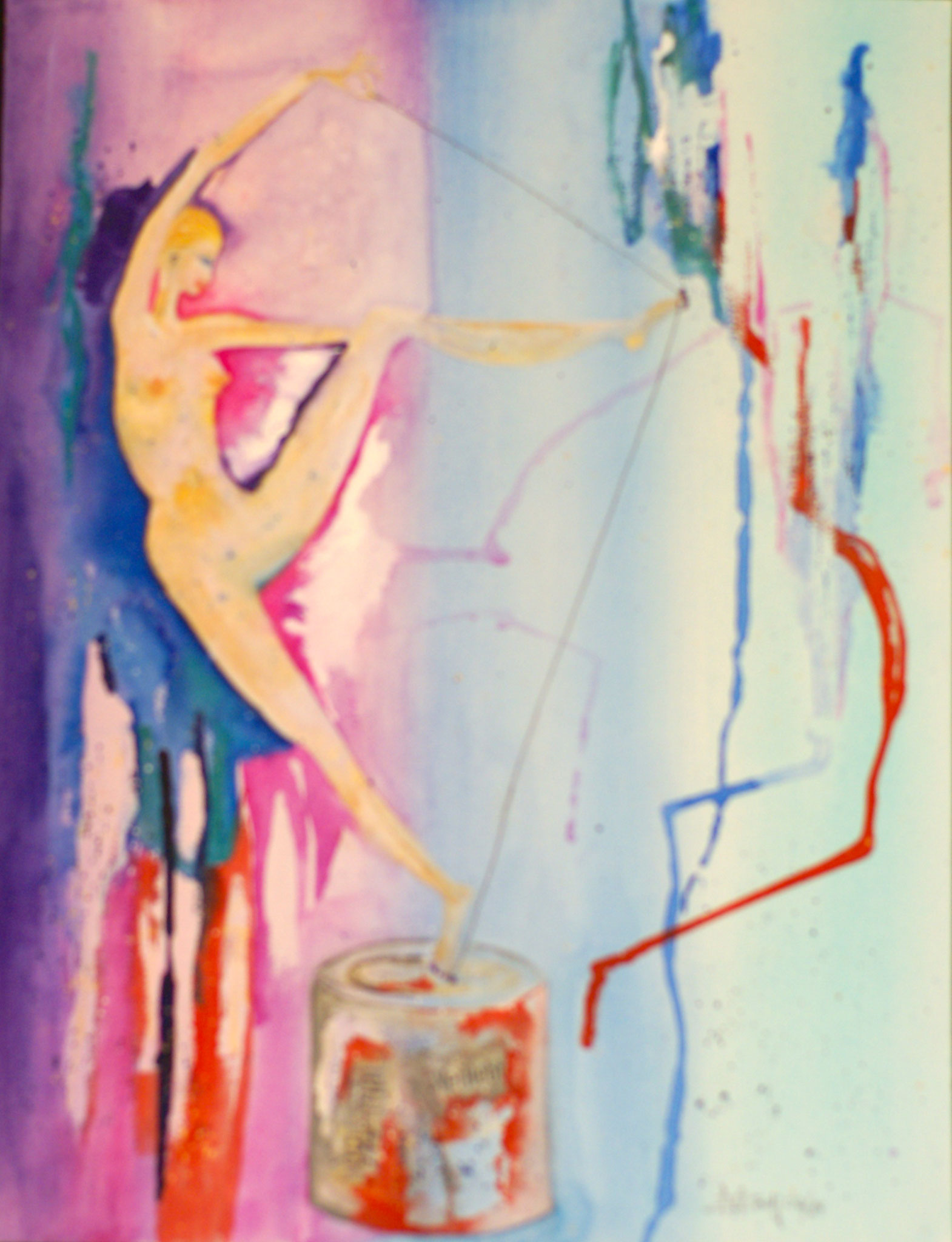 Zeitspanne/2 Aquarell 31X41cm Bild Nr.11 Preis auf Anfrage