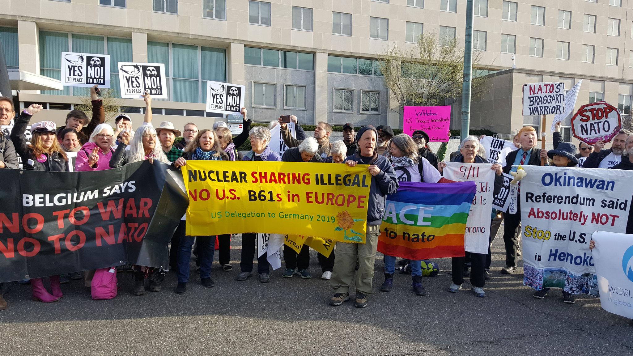 Demo in Washington