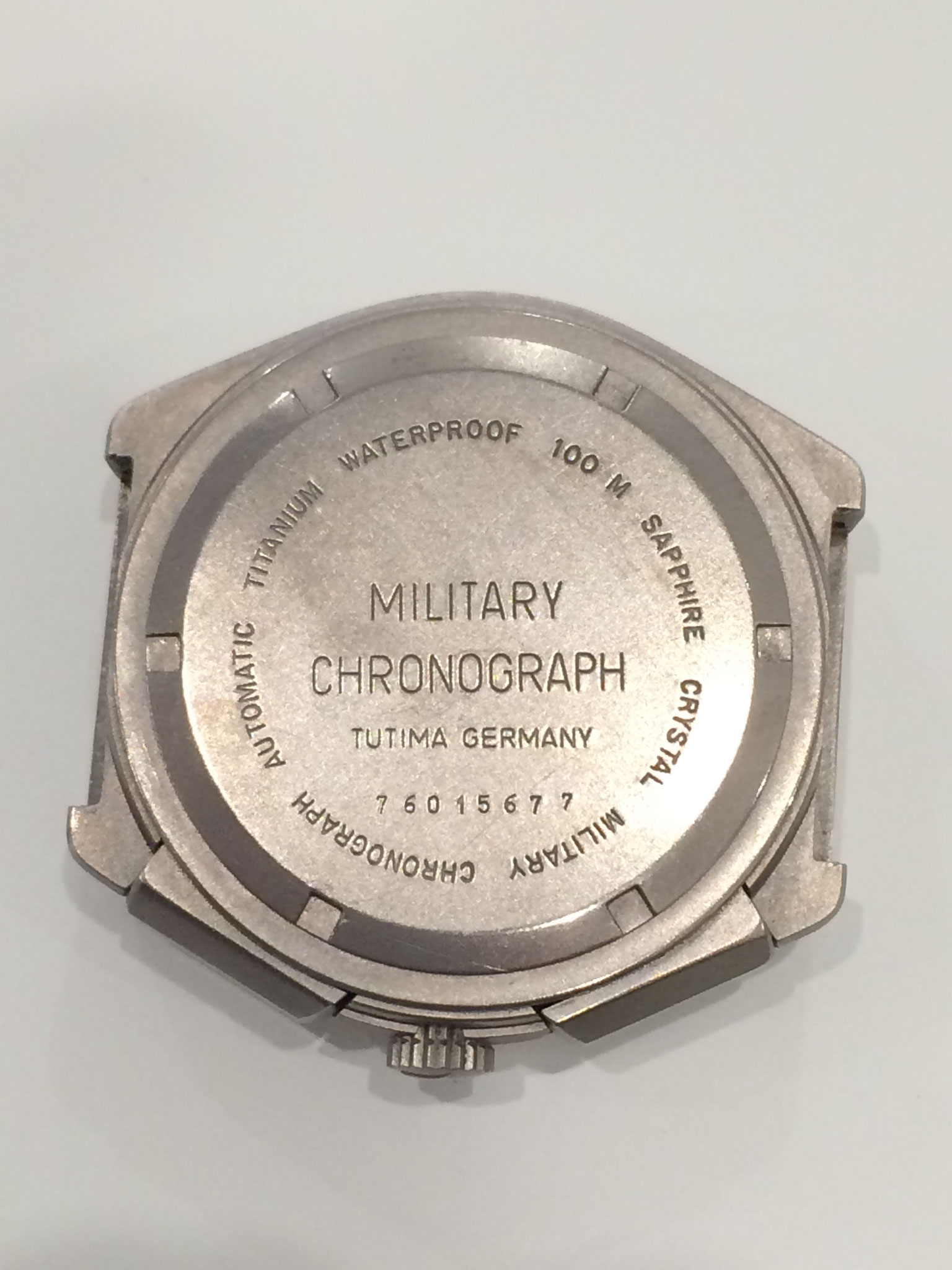 Tutima Military Chronograph Gehäuse Ref. 798