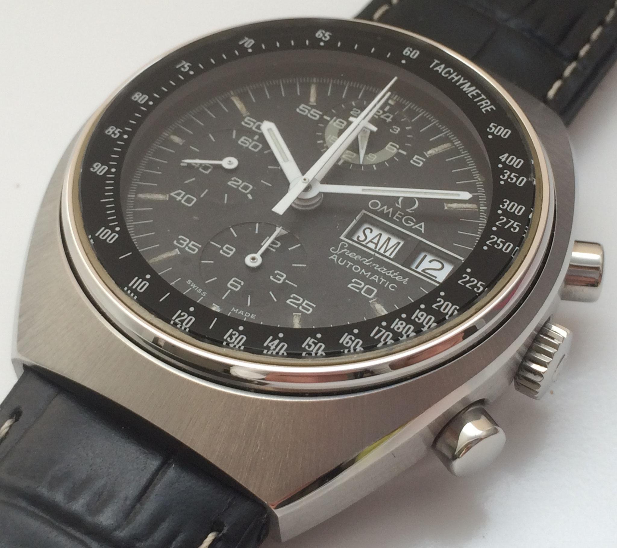 Omega Speedmaster Chronograph Ref. 176.0012 mit Omega 1045(Lemania 5100) aus den siebziger Jahren