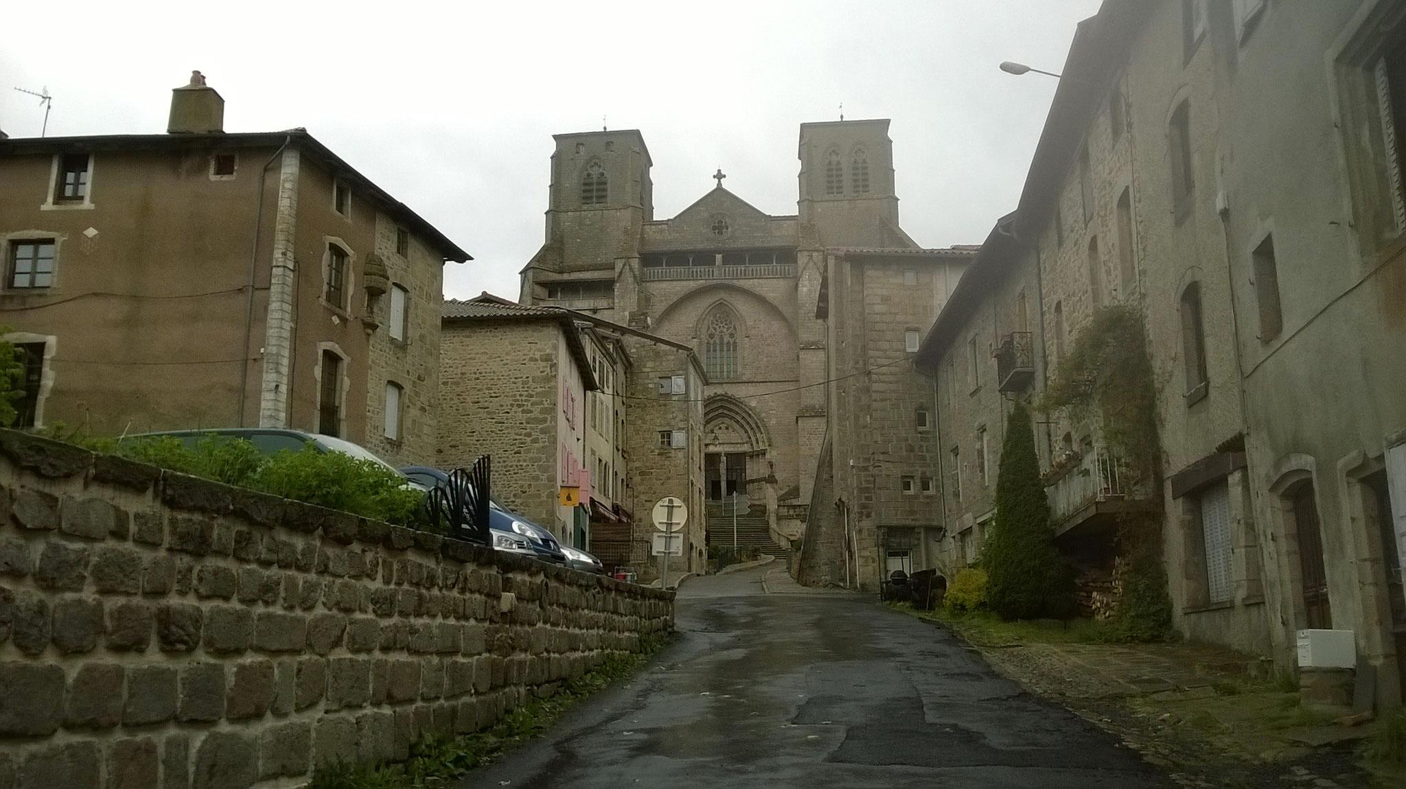 La Chaise Dieu - l'abbaye