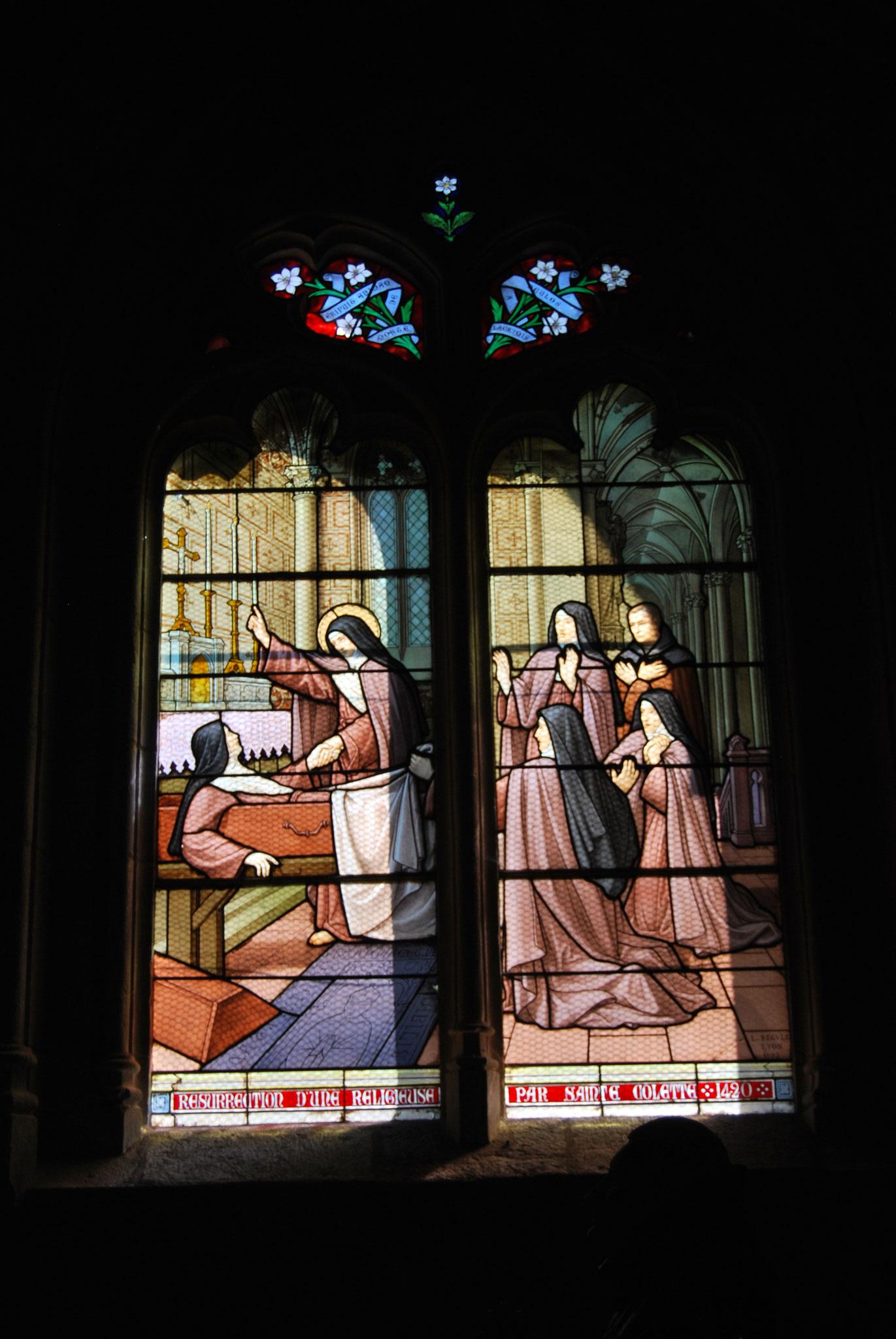 Poligny «Résurrection d'une religieuse par sainte Colette»